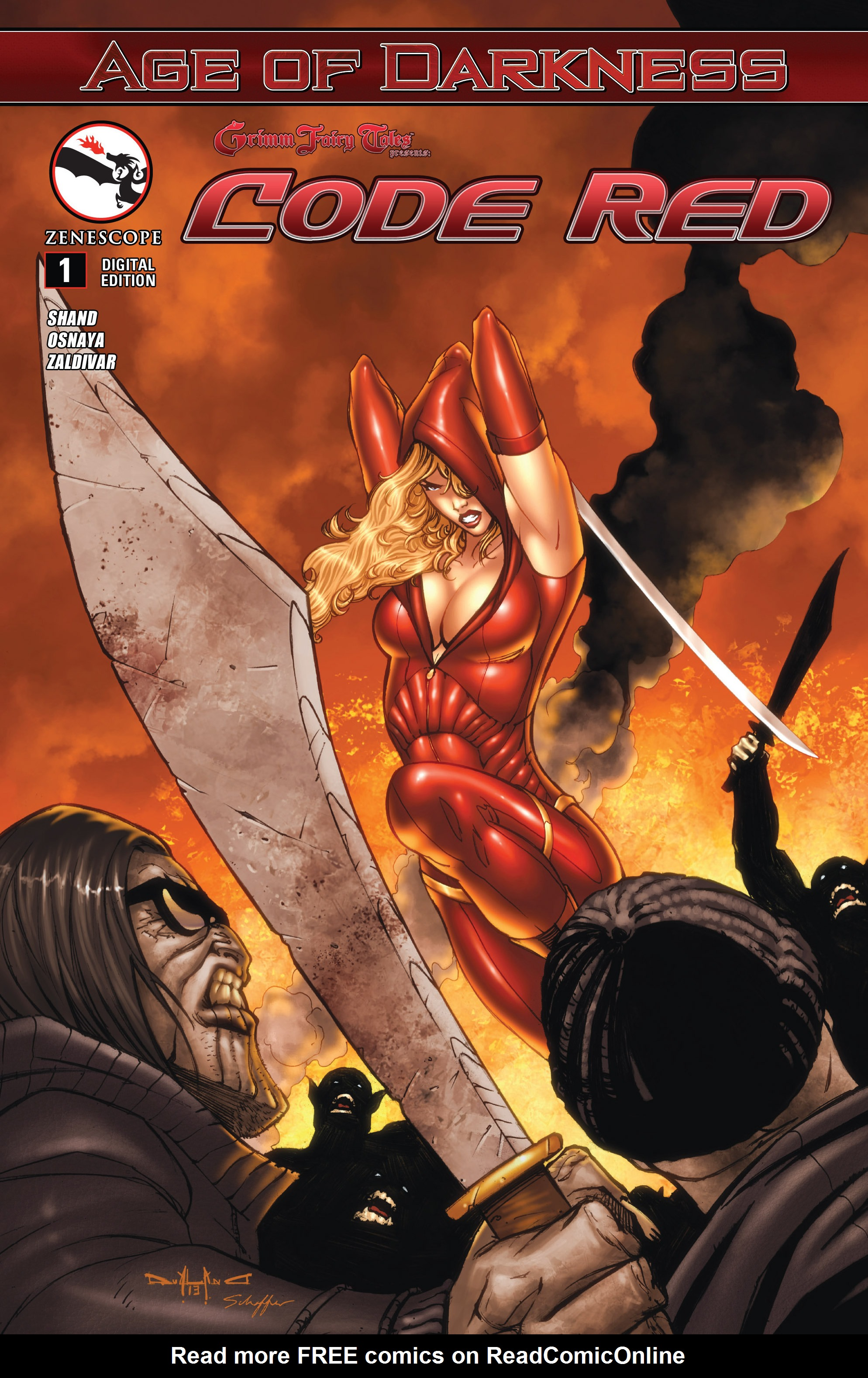 Read online Grimm Fairy Tales presents Code Red comic -  Issue # TPB - 5