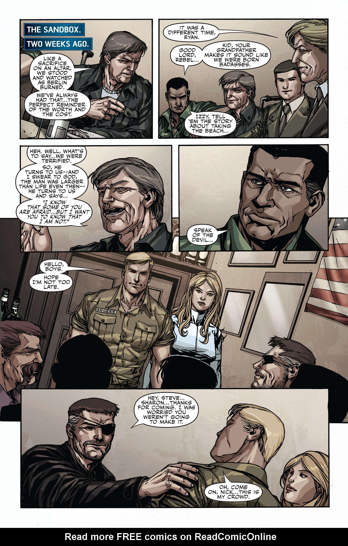 Read online Secret Warriors comic -  Issue #17 - 21