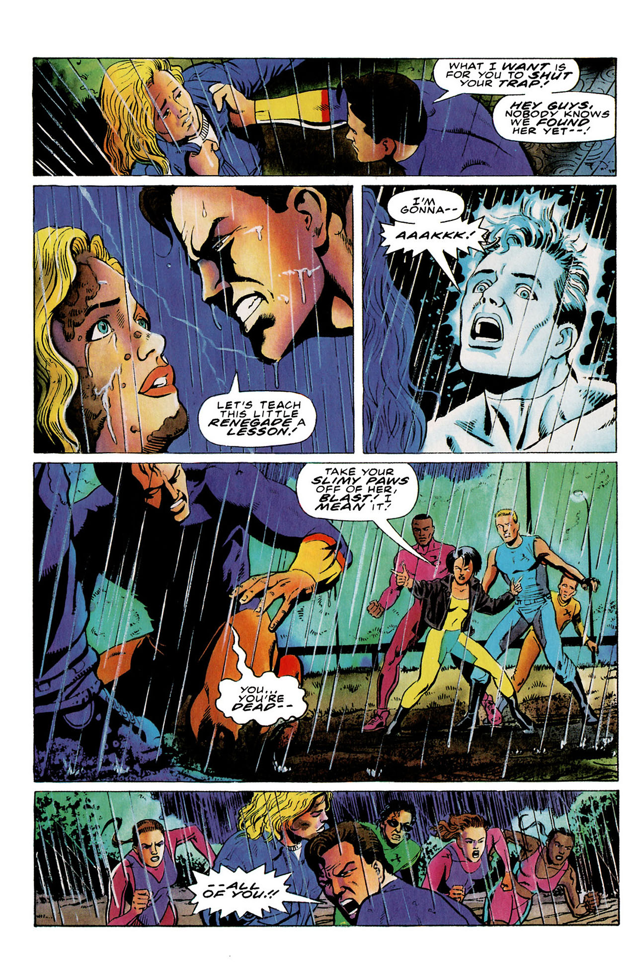 Read online Harbinger (1992) comic -  Issue #26 - 22