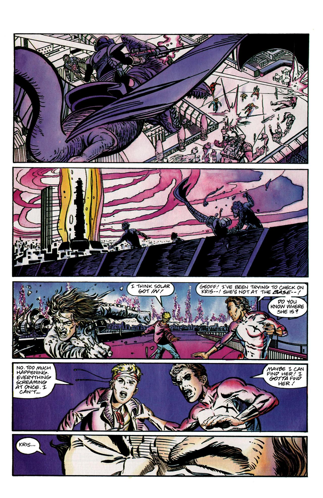 Read online Harbinger (1992) comic -  Issue #9 - 19