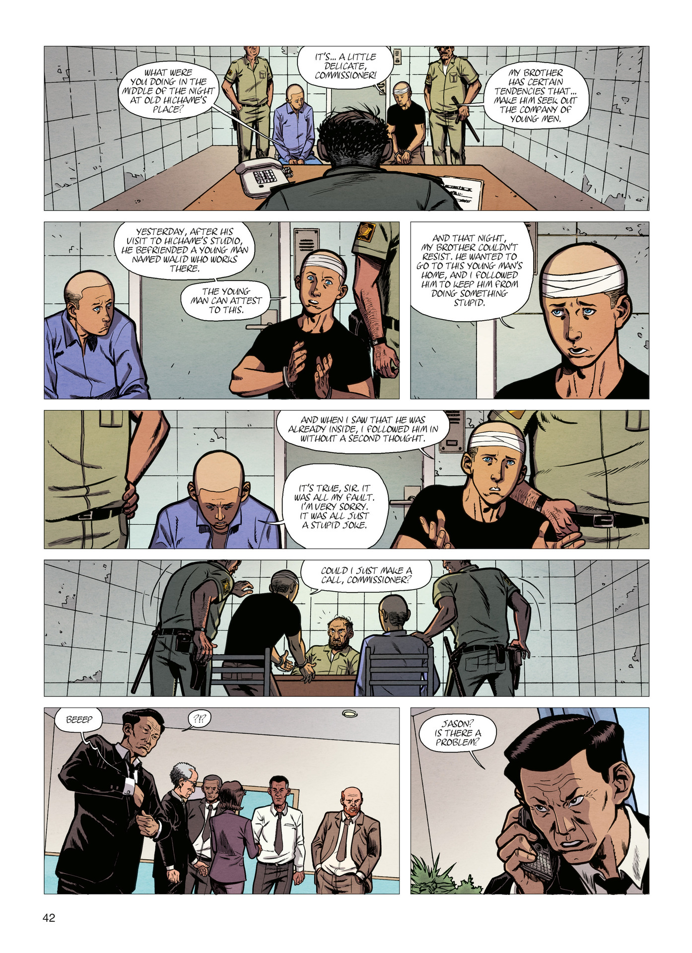 Read online Alter Ego comic -  Issue #4 - 44