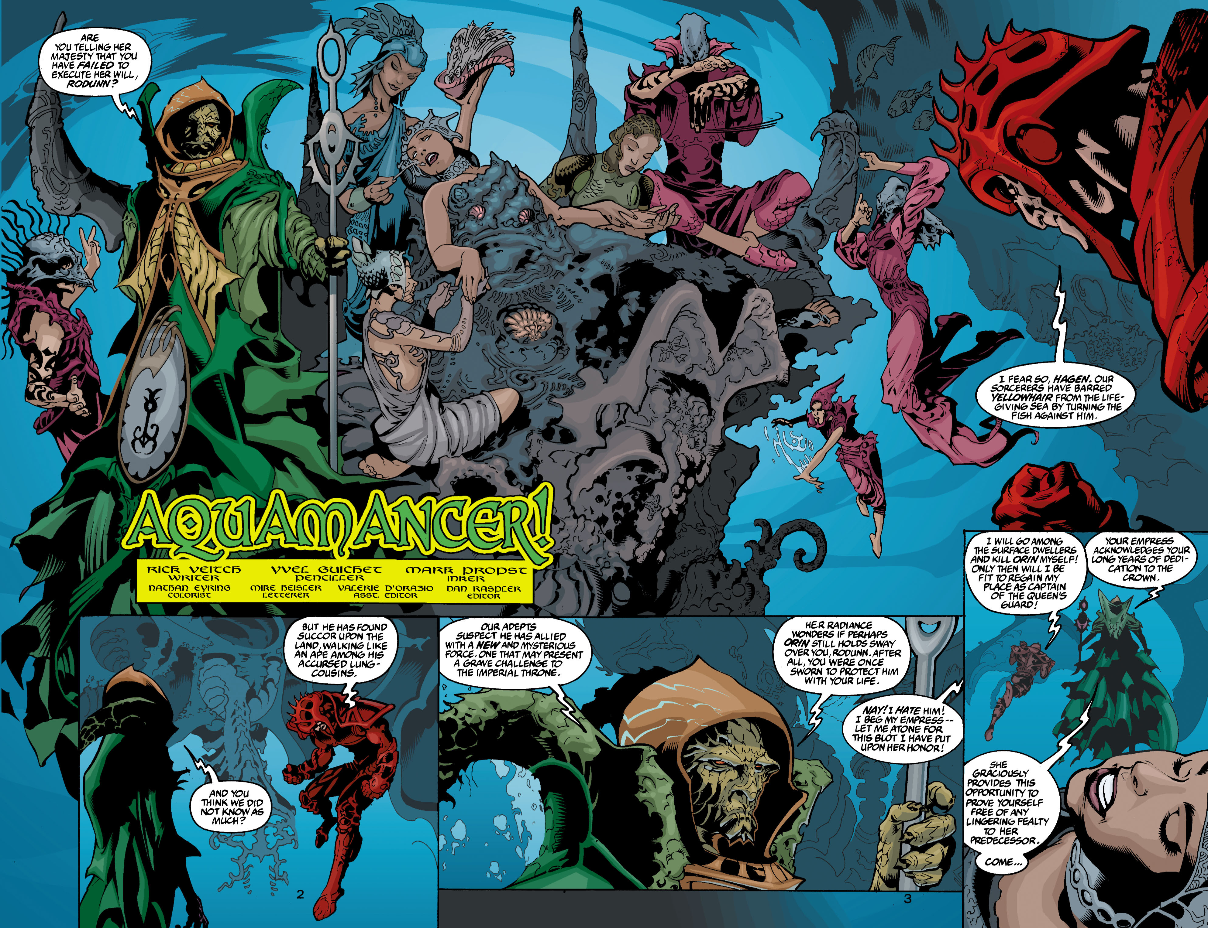 Read online Aquaman (2003) comic -  Issue #3 - 3