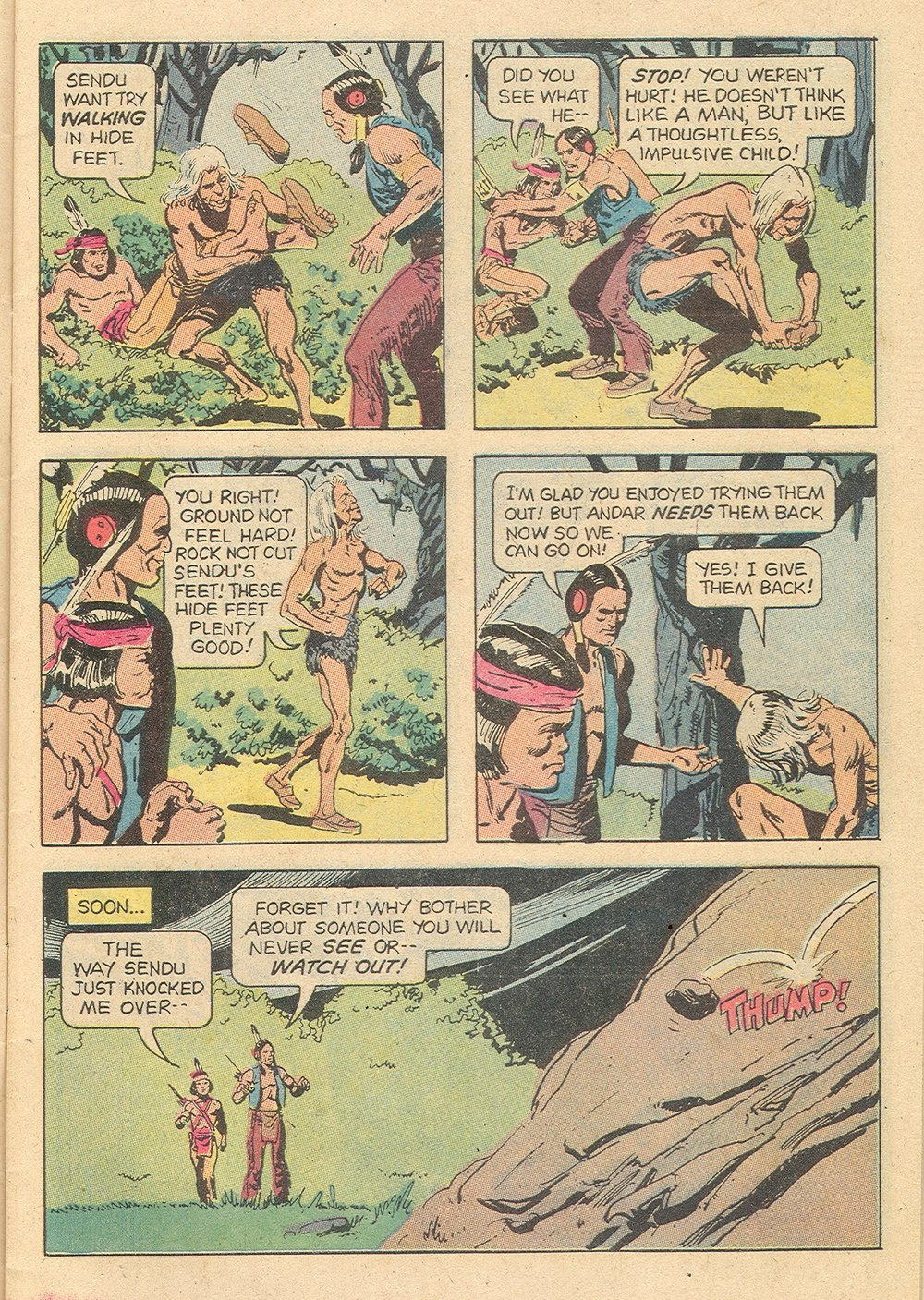Read online Turok, Son of Stone comic -  Issue #129 - 7