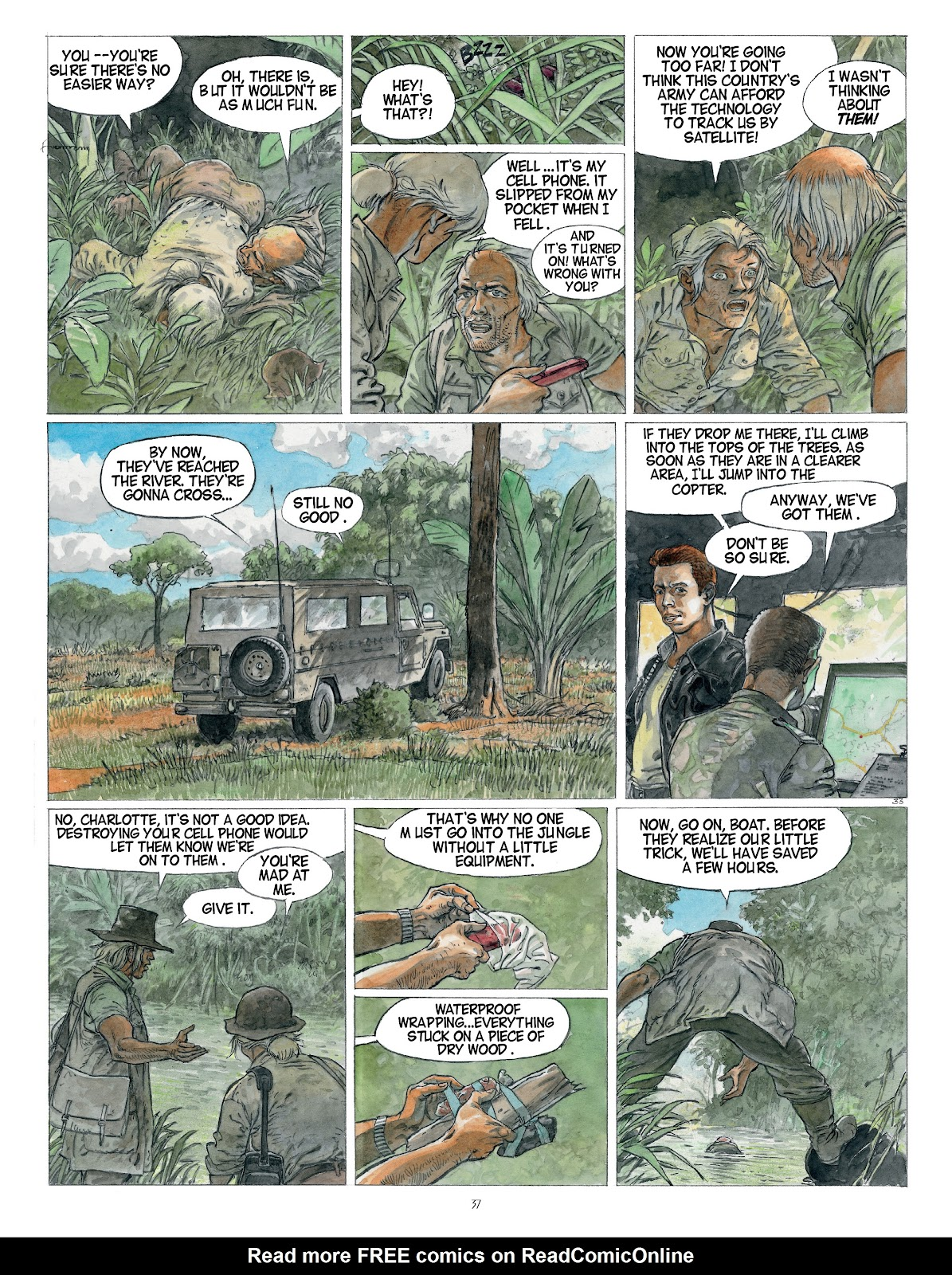 Read online Afrika comic -  Issue # TPB - 37