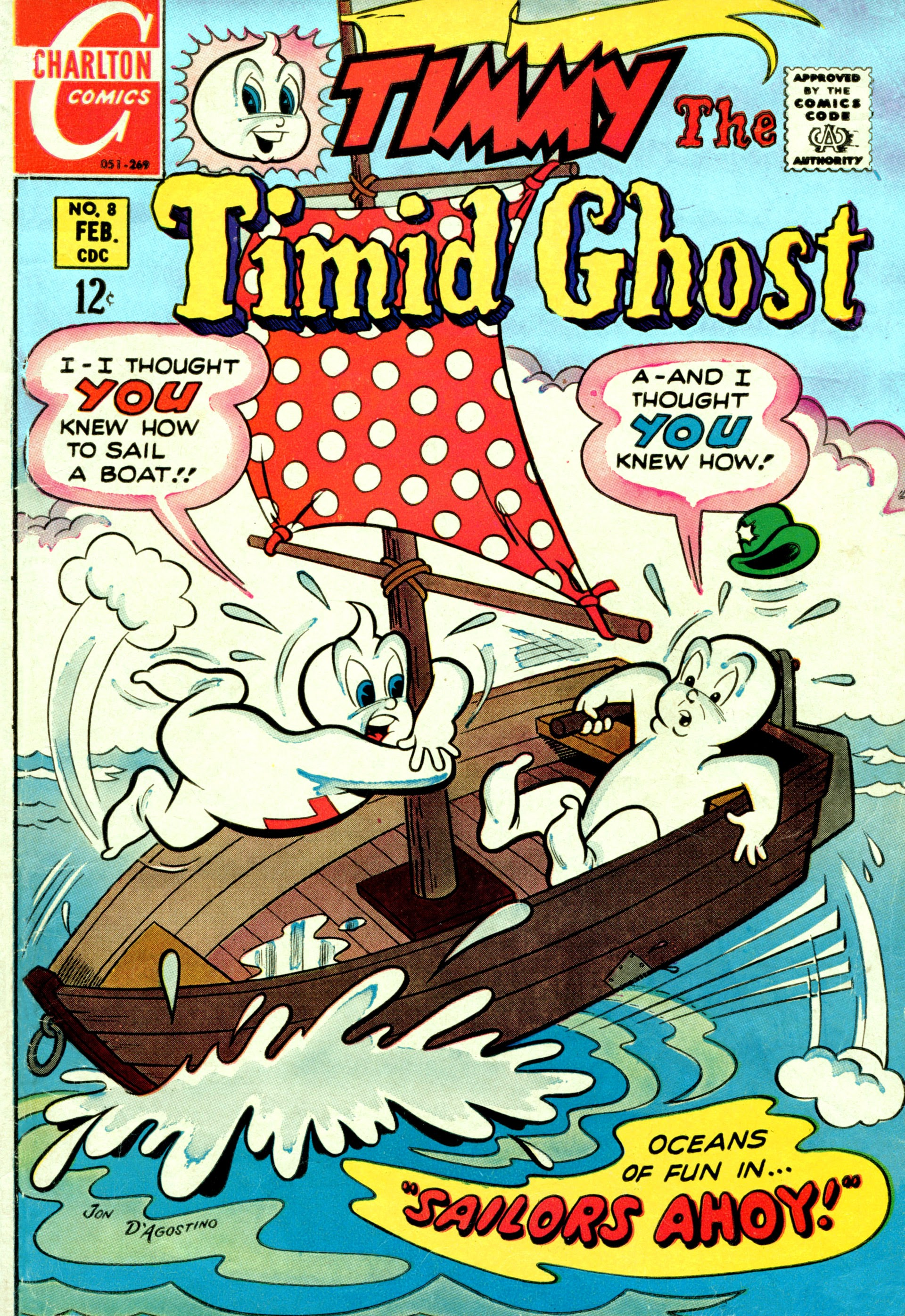 Timmy the Timid Ghost 8 Page 1