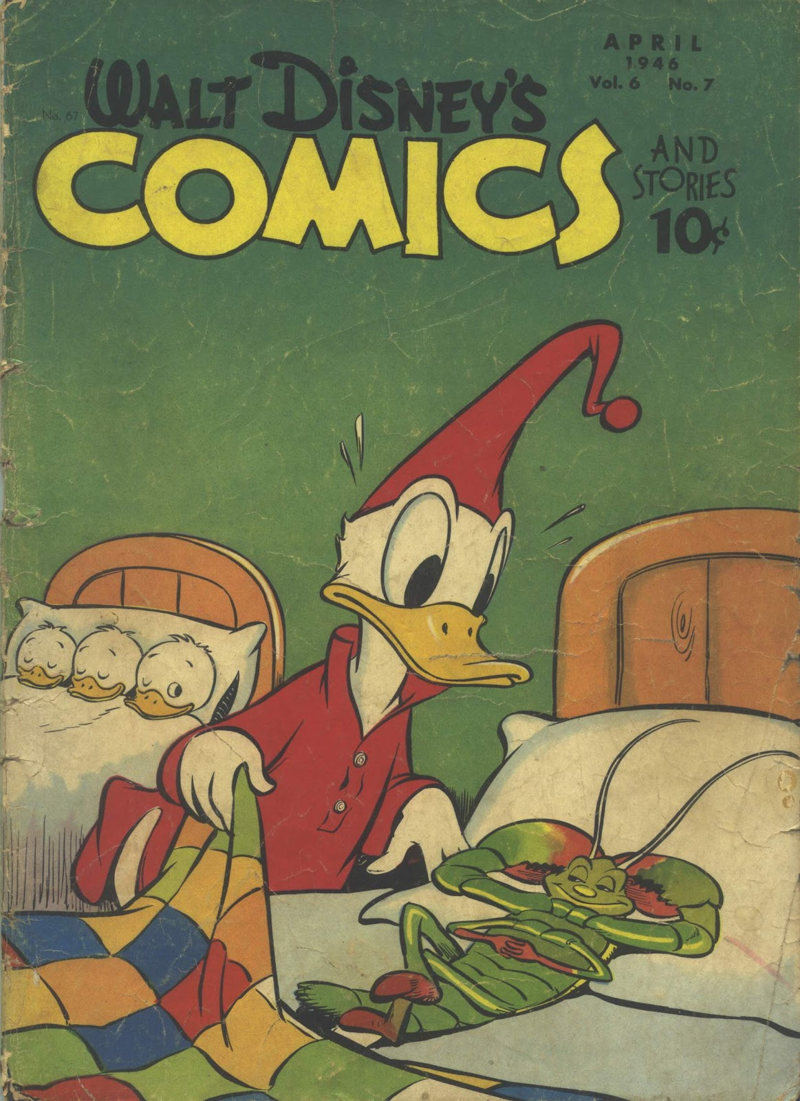 Walt Disney's Comics and Stories issue 67 - Page 1
