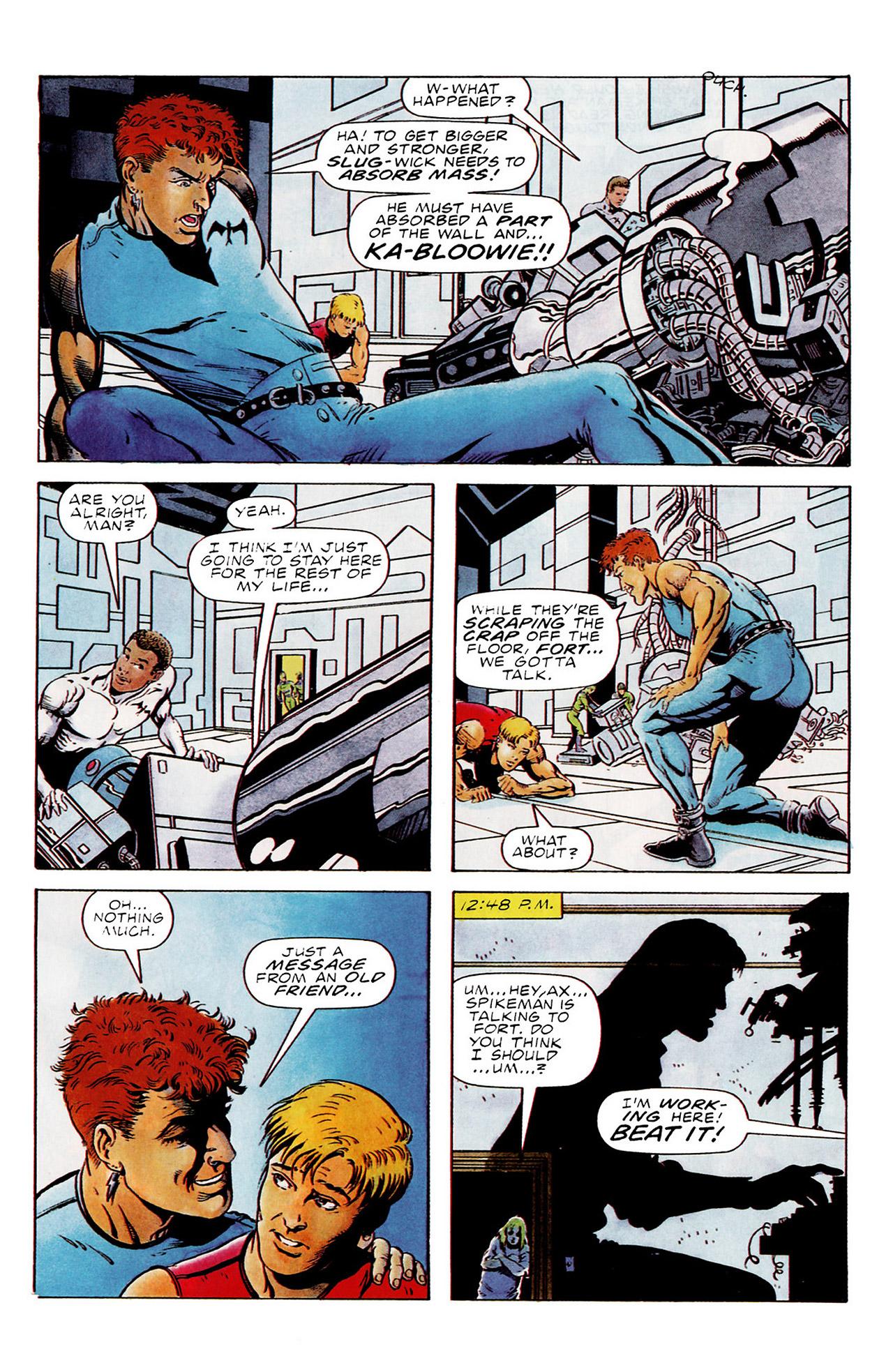 Read online Harbinger (1992) comic -  Issue #15 - 8