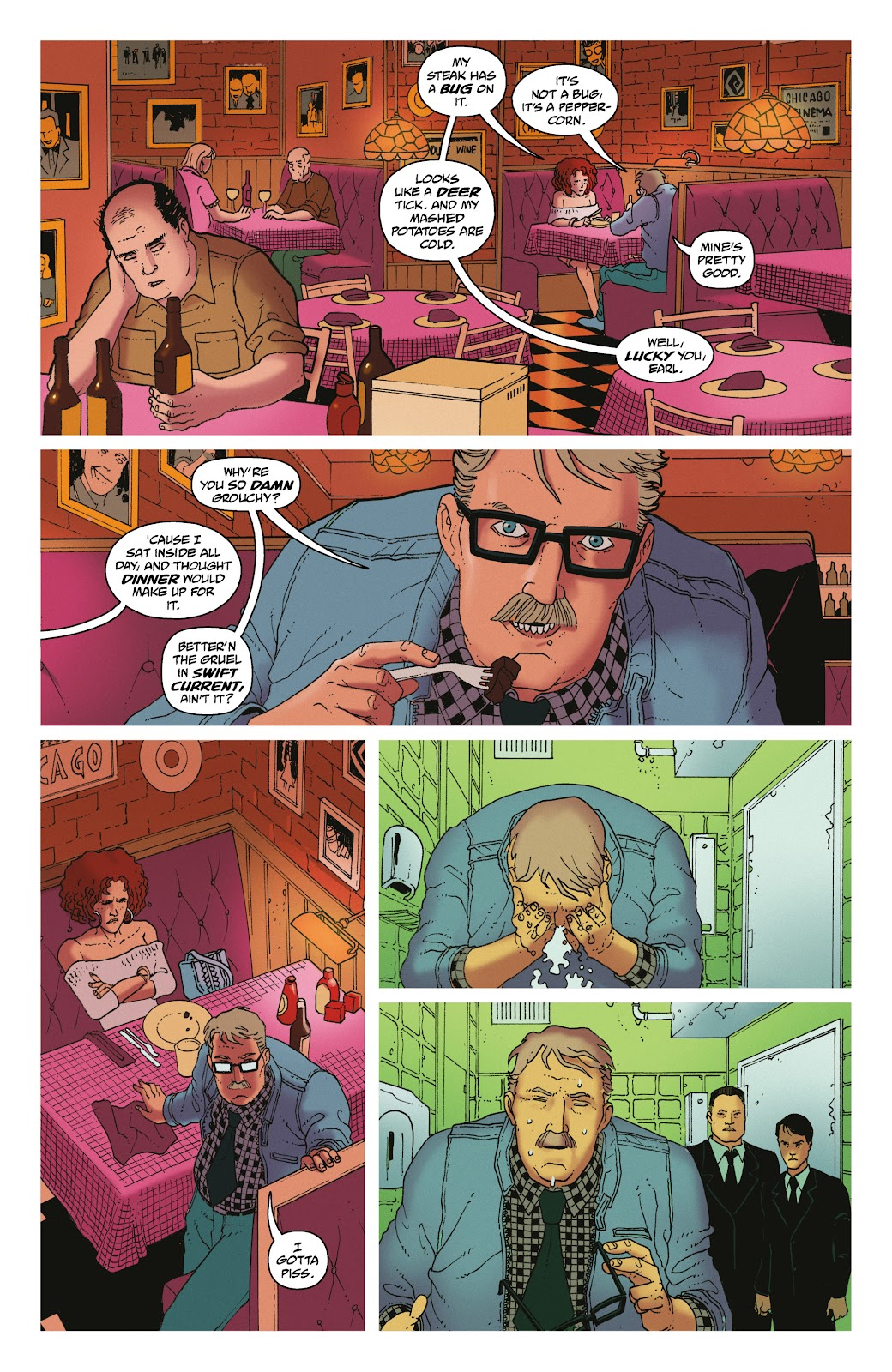 Read online She Could Fly comic -  Issue # _TPB - 49