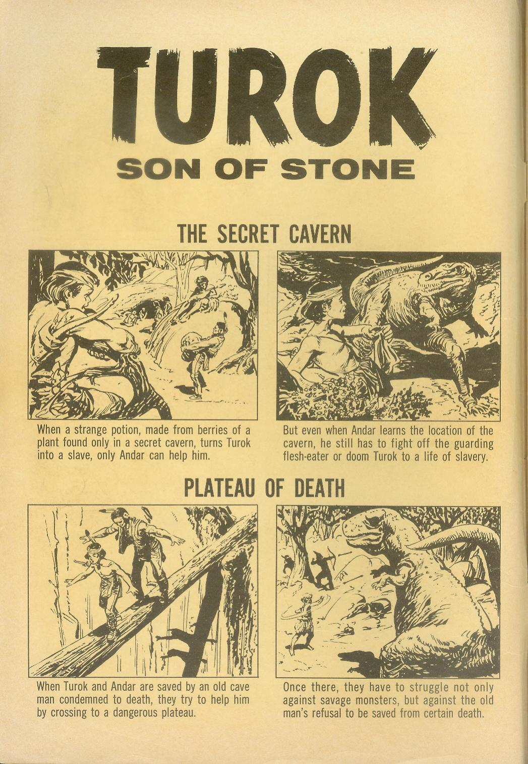 Read online Turok, Son of Stone comic -  Issue #28 - 2