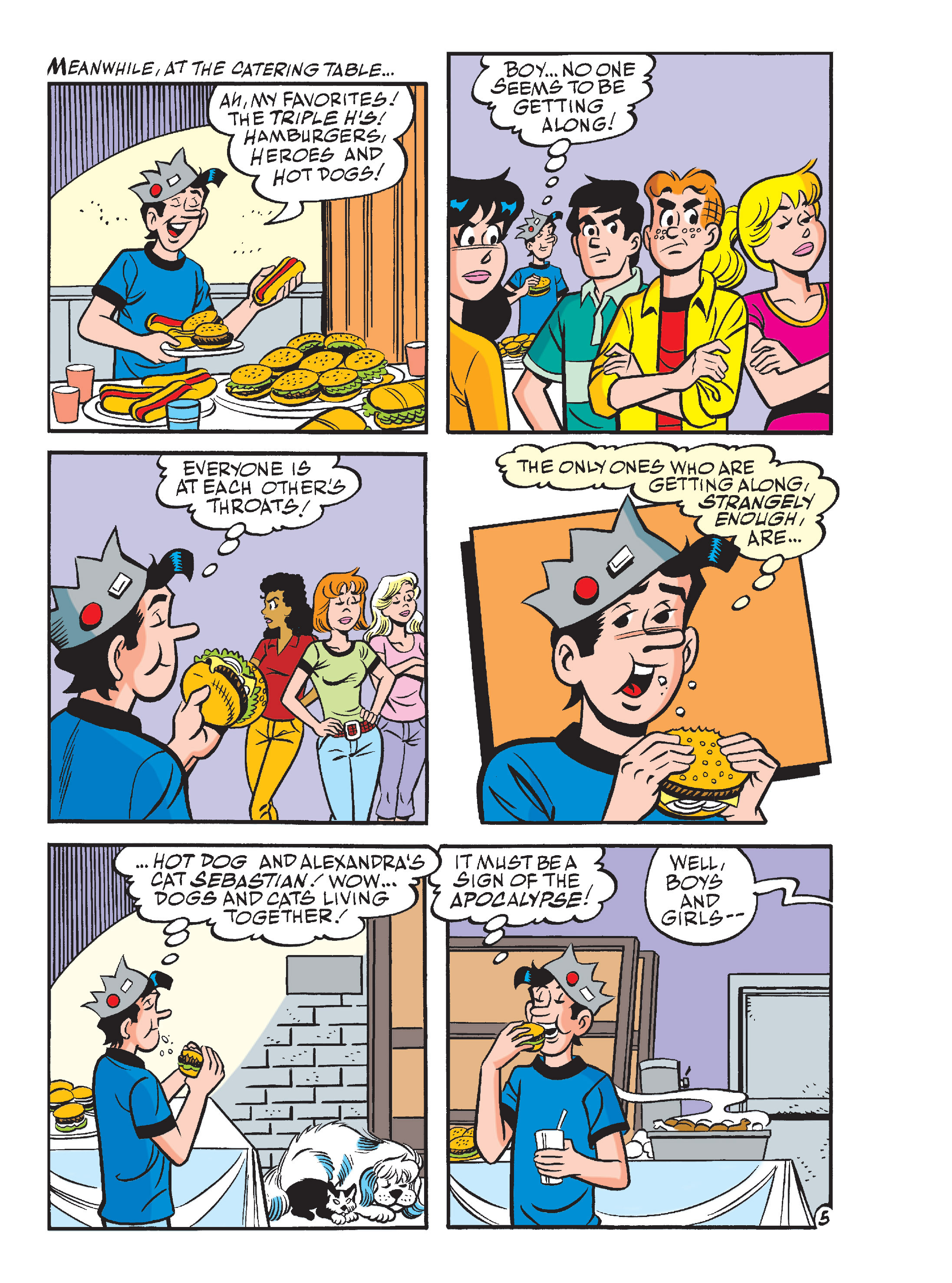 Read online Archie's Funhouse Double Digest comic -  Issue #13 - 40