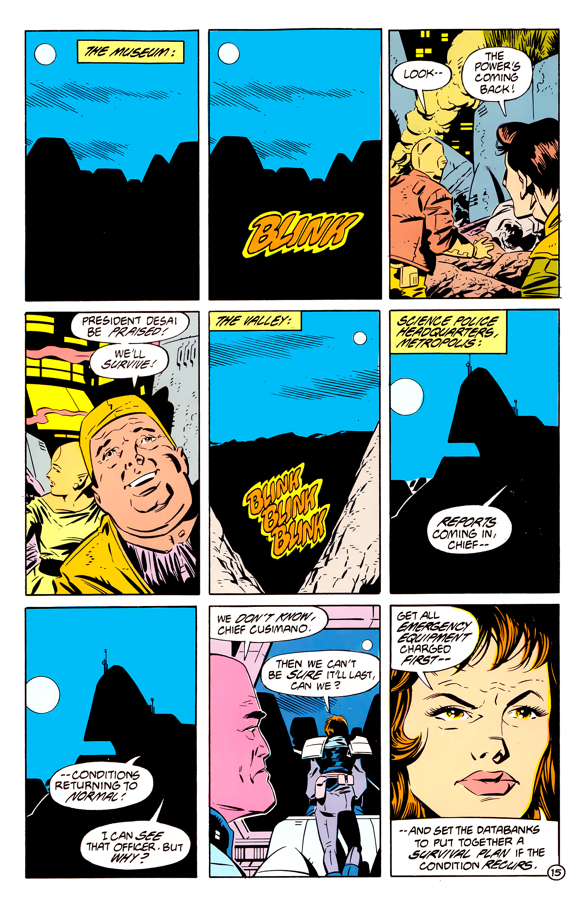 Legion of Super-Heroes (1984) 61 Page 15