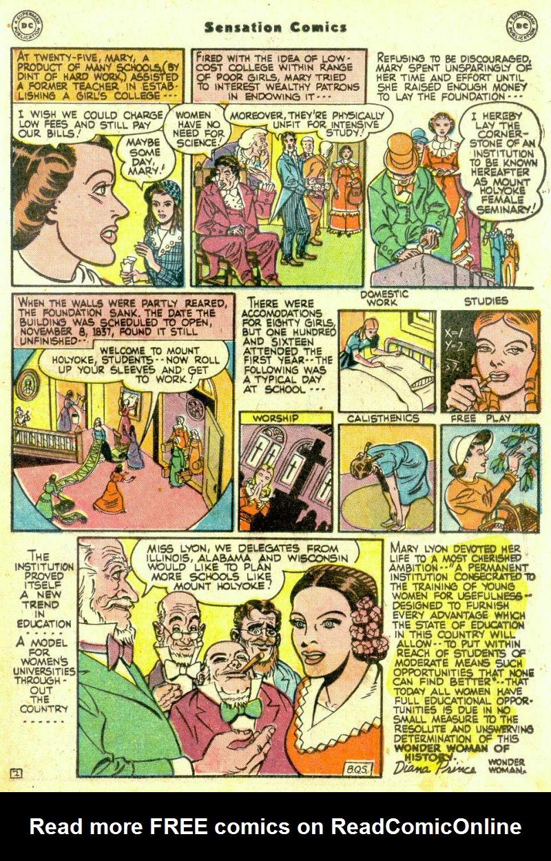 Read online Sensation (Mystery) Comics comic -  Issue #74 - 31