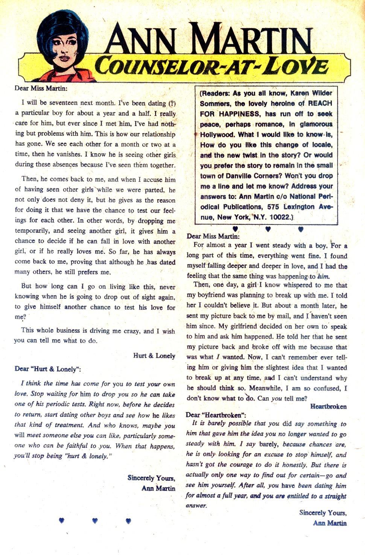 Read online Secret Hearts comic -  Issue #128 - 16