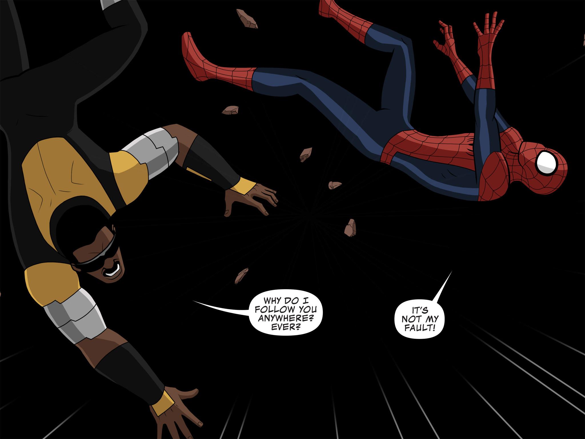 Read online Ultimate Spider-Man (Infinite Comics) (2015) comic -  Issue #10 - 12