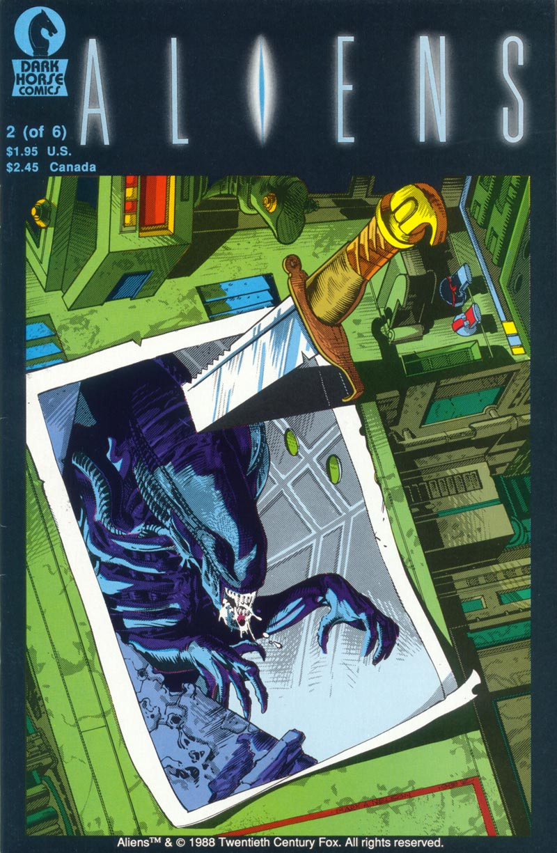 Read online Aliens (1988) comic -  Issue #2 - 1