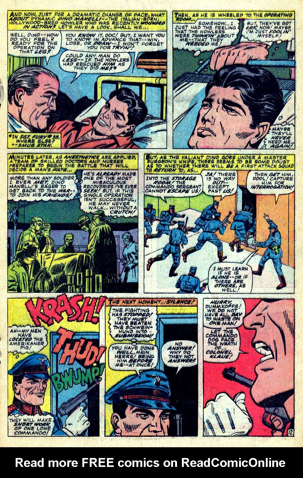 Read online Sgt. Fury comic -  Issue #39 - 17