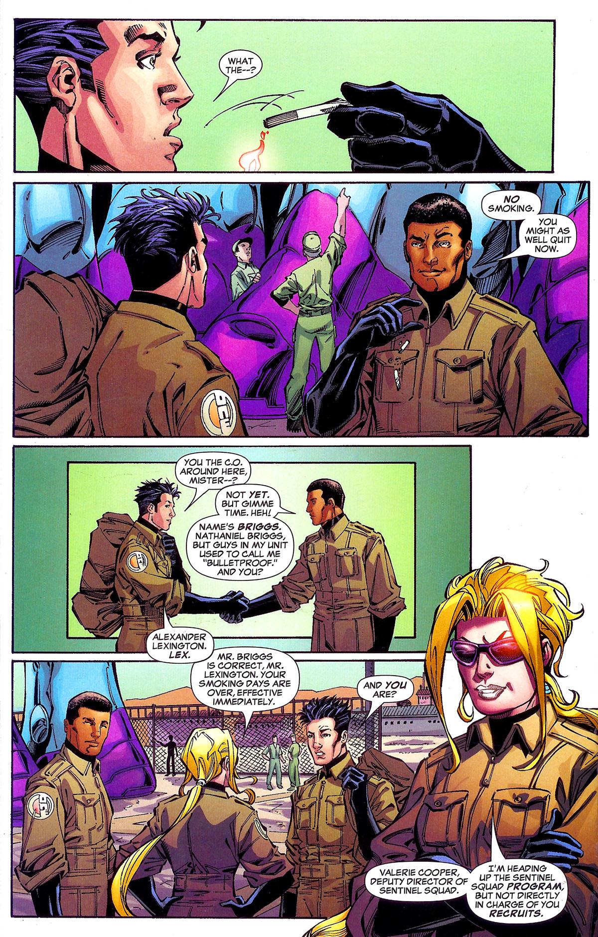 Read online Sentinel Squad O*N*E comic -  Issue #1 - 11