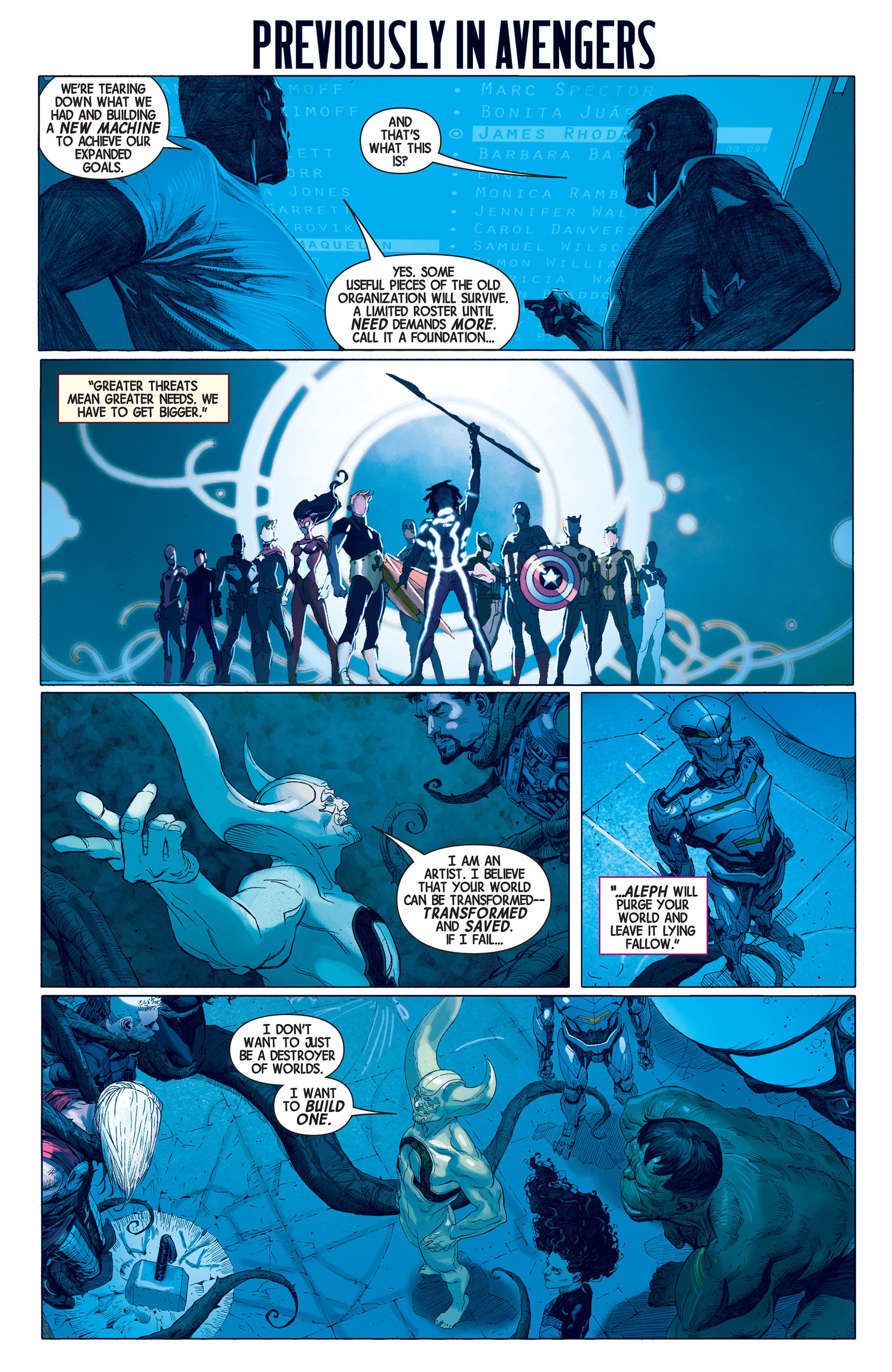 Read online Avengers (2013) comic -  Issue #3 - 2
