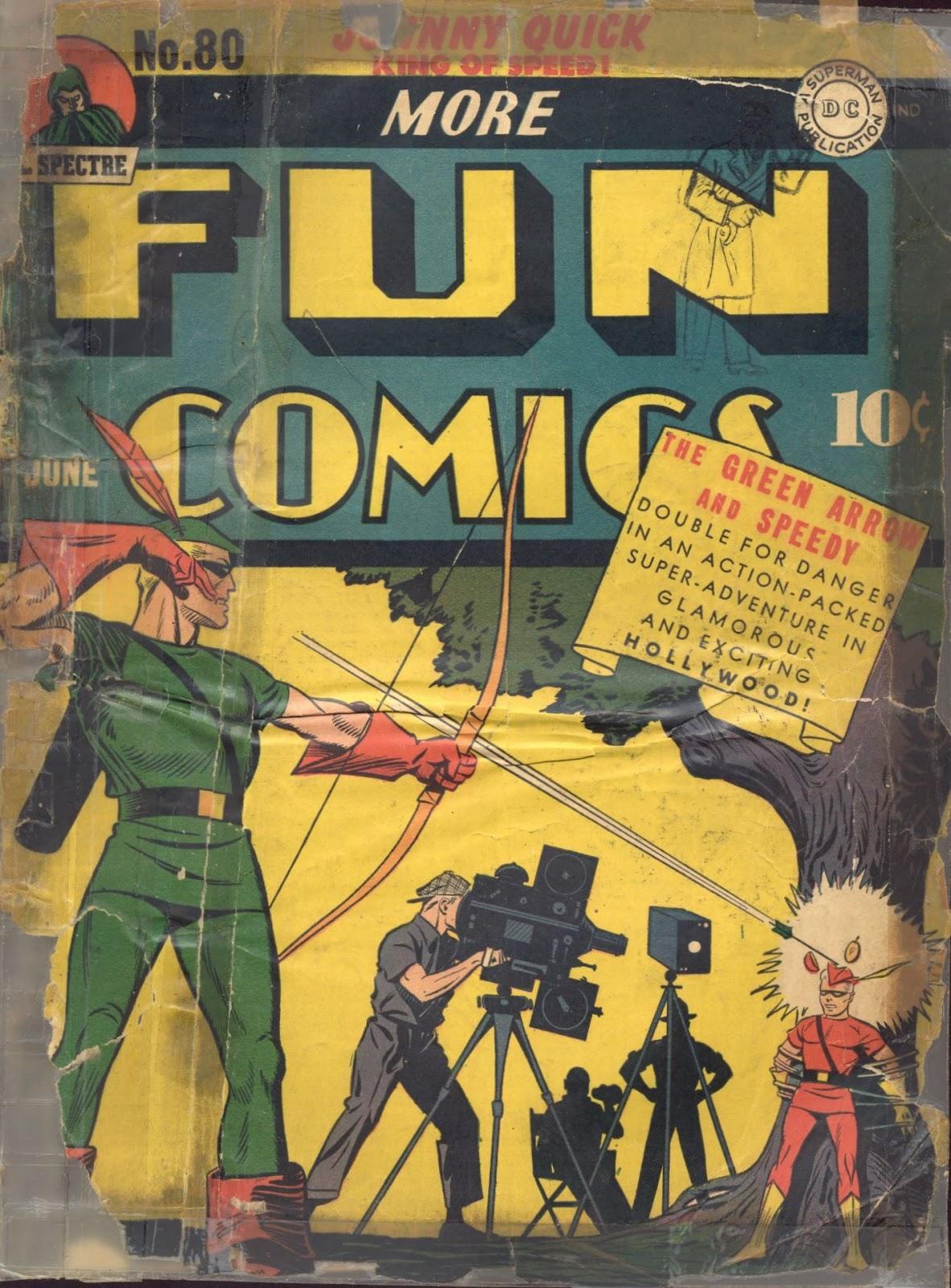 More Fun Comics 80 Page 1