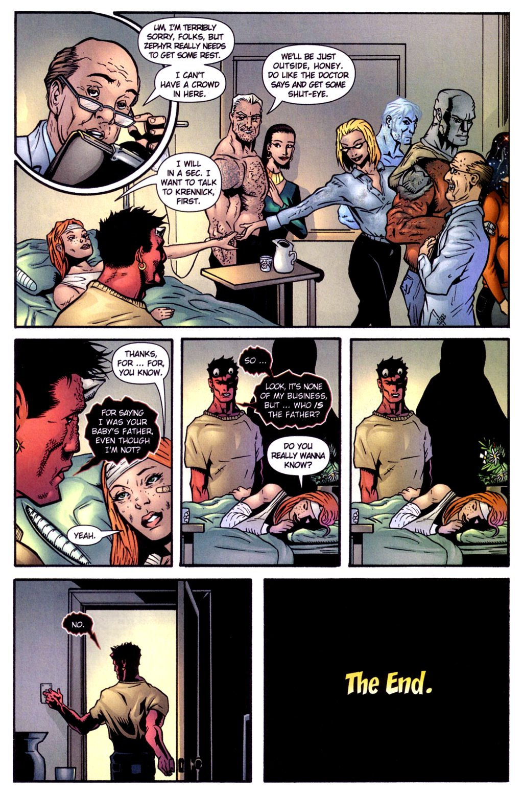 Read online Noble Causes (2002) comic -  Issue #4 - 19