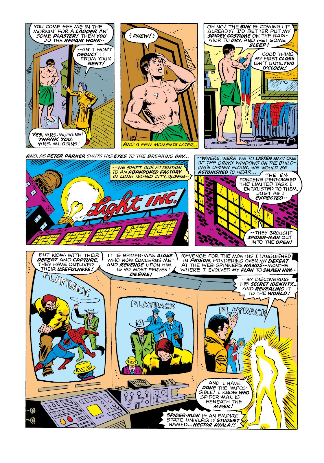Read online Marvel Masterworks: The Spectacular Spider-Man comic -  Issue # TPB 2 (Part 1) - 87
