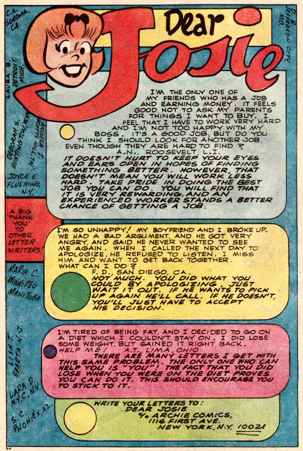 Read online She's Josie comic -  Issue #105 - 26