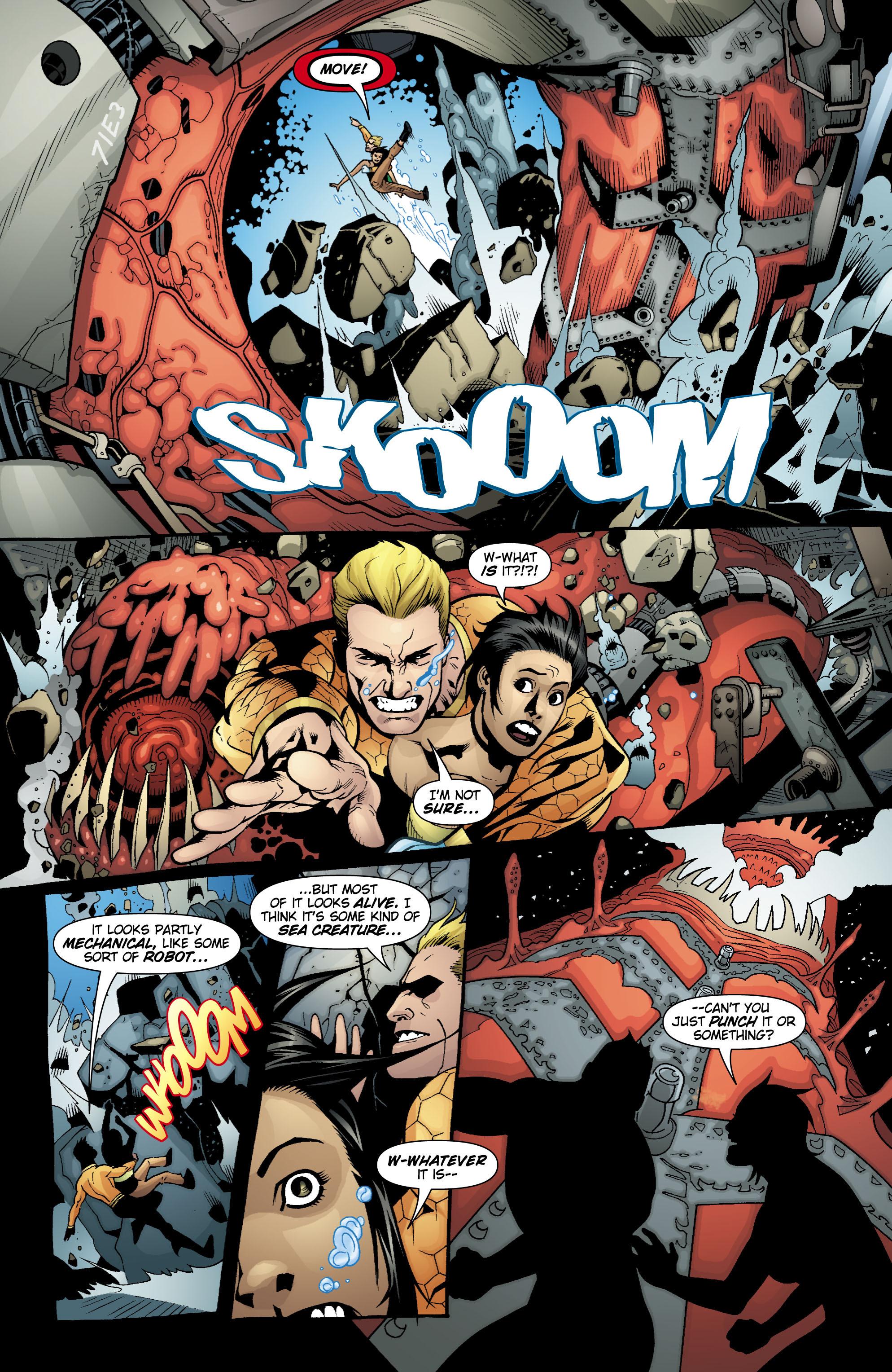 Read online Aquaman (2003) comic -  Issue #18 - 9