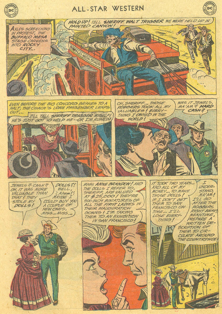 Read online All-Star Western (1951) comic -  Issue #114 - 26