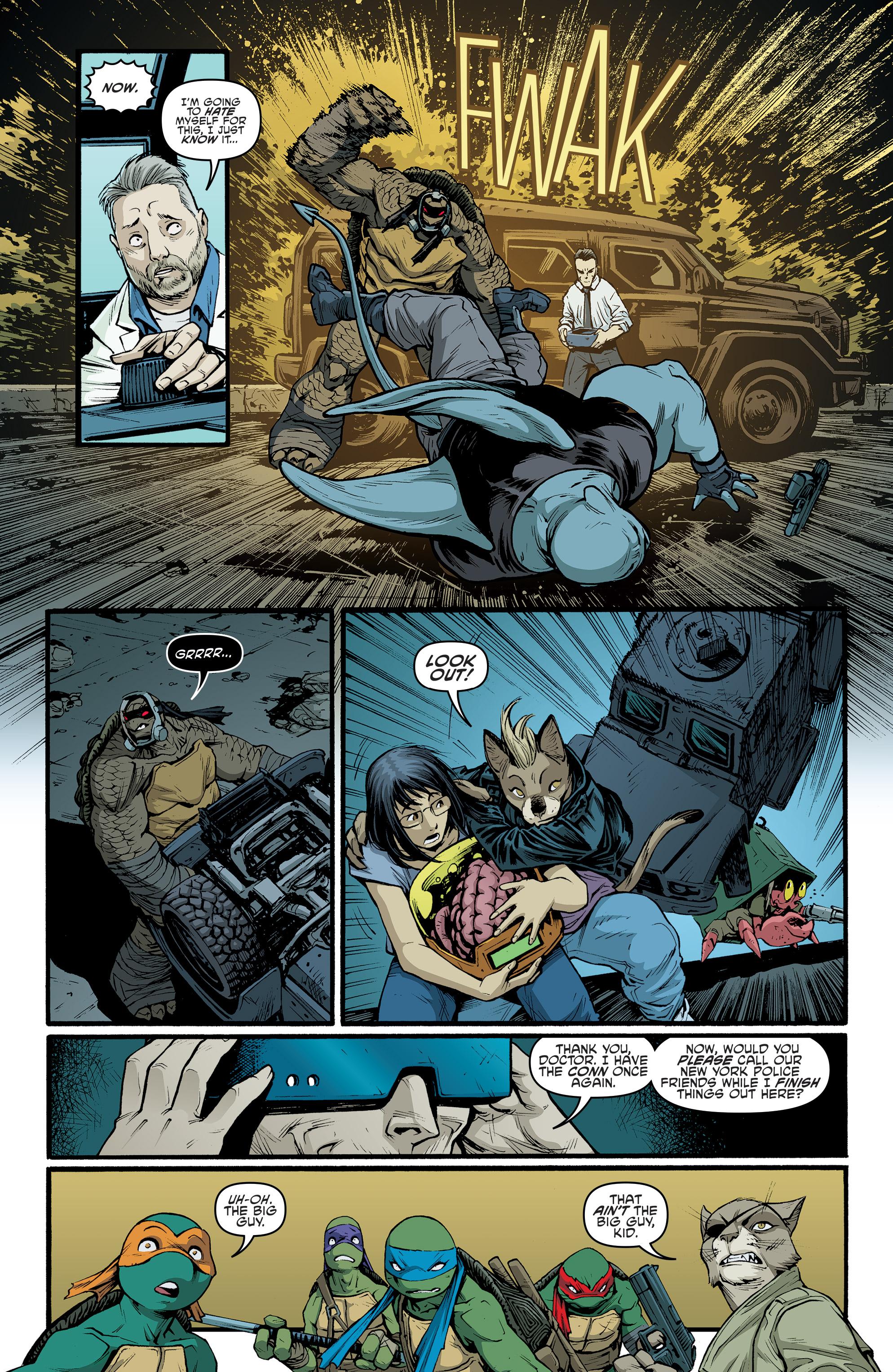 Read online Teenage Mutant Ninja Turtles (2011) comic -  Issue #70 - 16