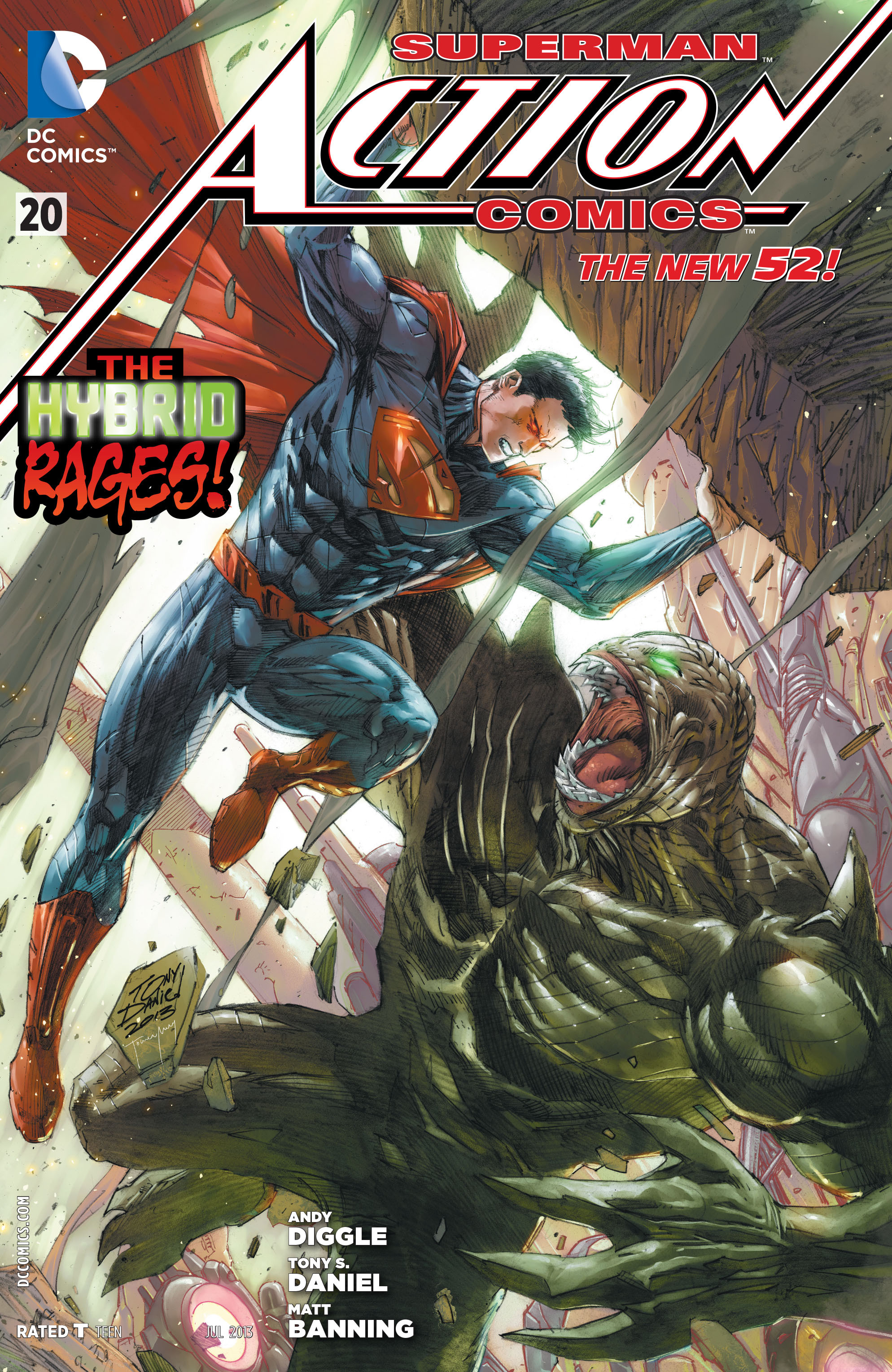 Read online Action Comics (2011) comic -  Issue #20 - 2