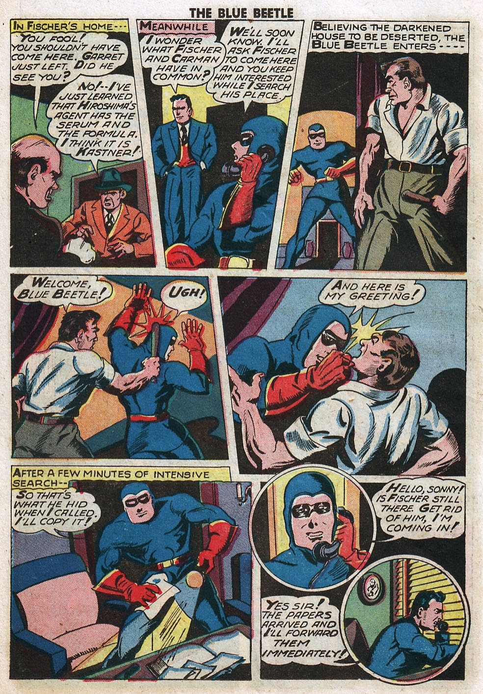 The Blue Beetle issue 33 - Page 20