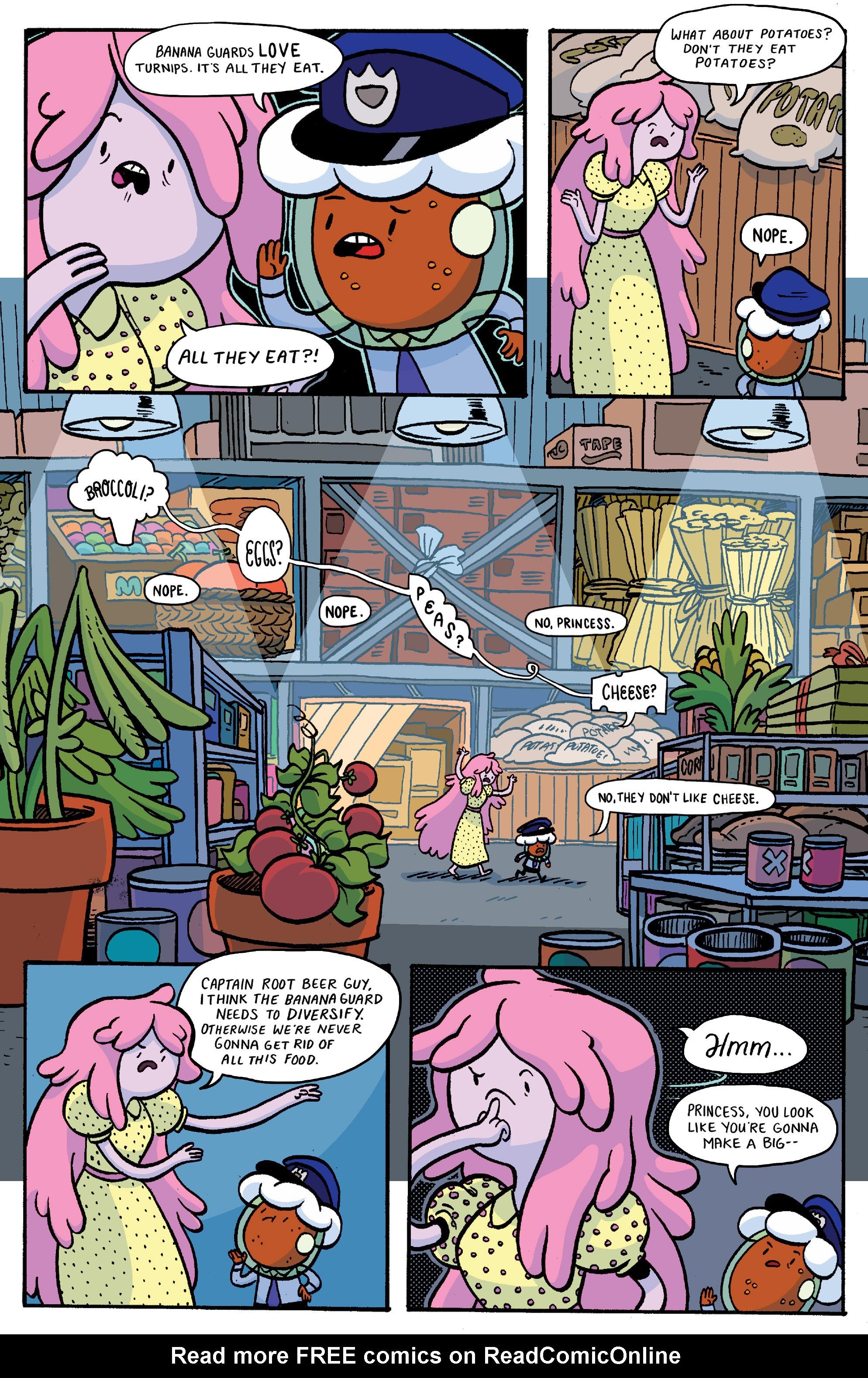 Read online Adventure Time: Banana Guard Academ comic -  Issue #1 - 5