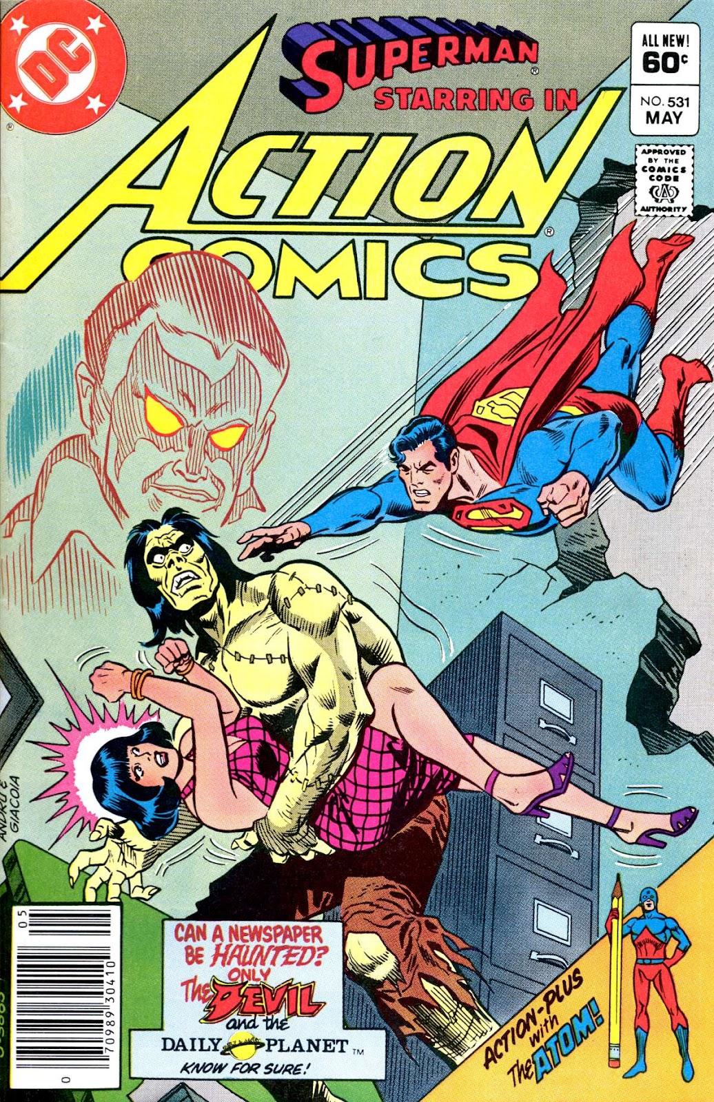 Action Comics (1938) 531 Page 1