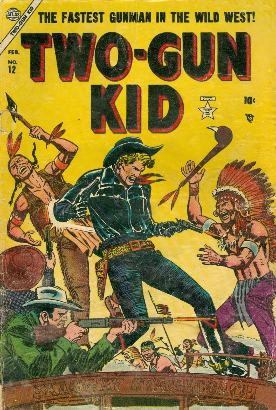 Read online Two-Gun Kid comic -  Issue #12 - 1