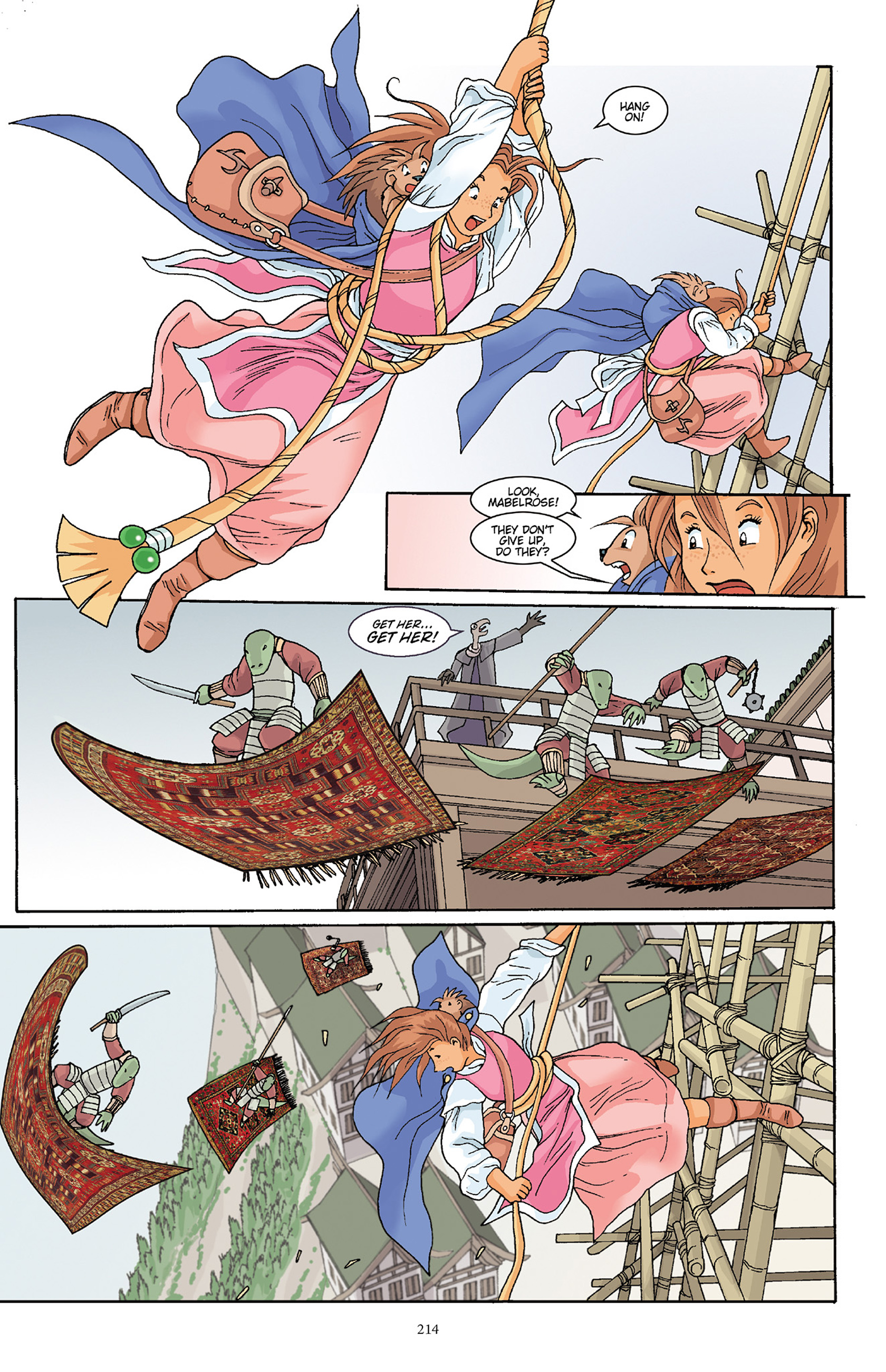 Read online Courageous Princess comic -  Issue # TPB 1 - 211