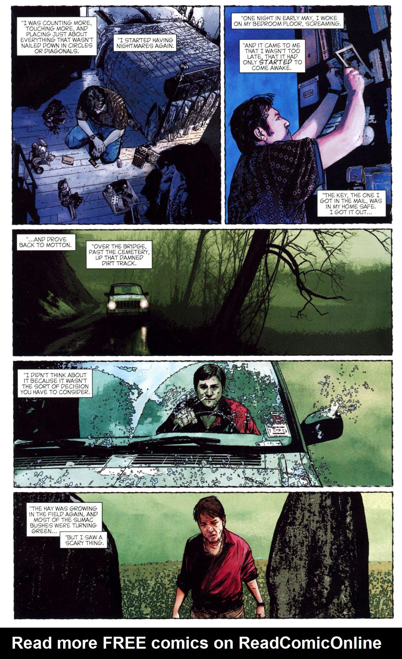 Read online Stephen King's N. comic -  Issue #2 - 17