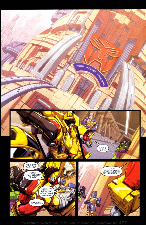 Read online Transformers Armada comic -  Issue #1 - 8