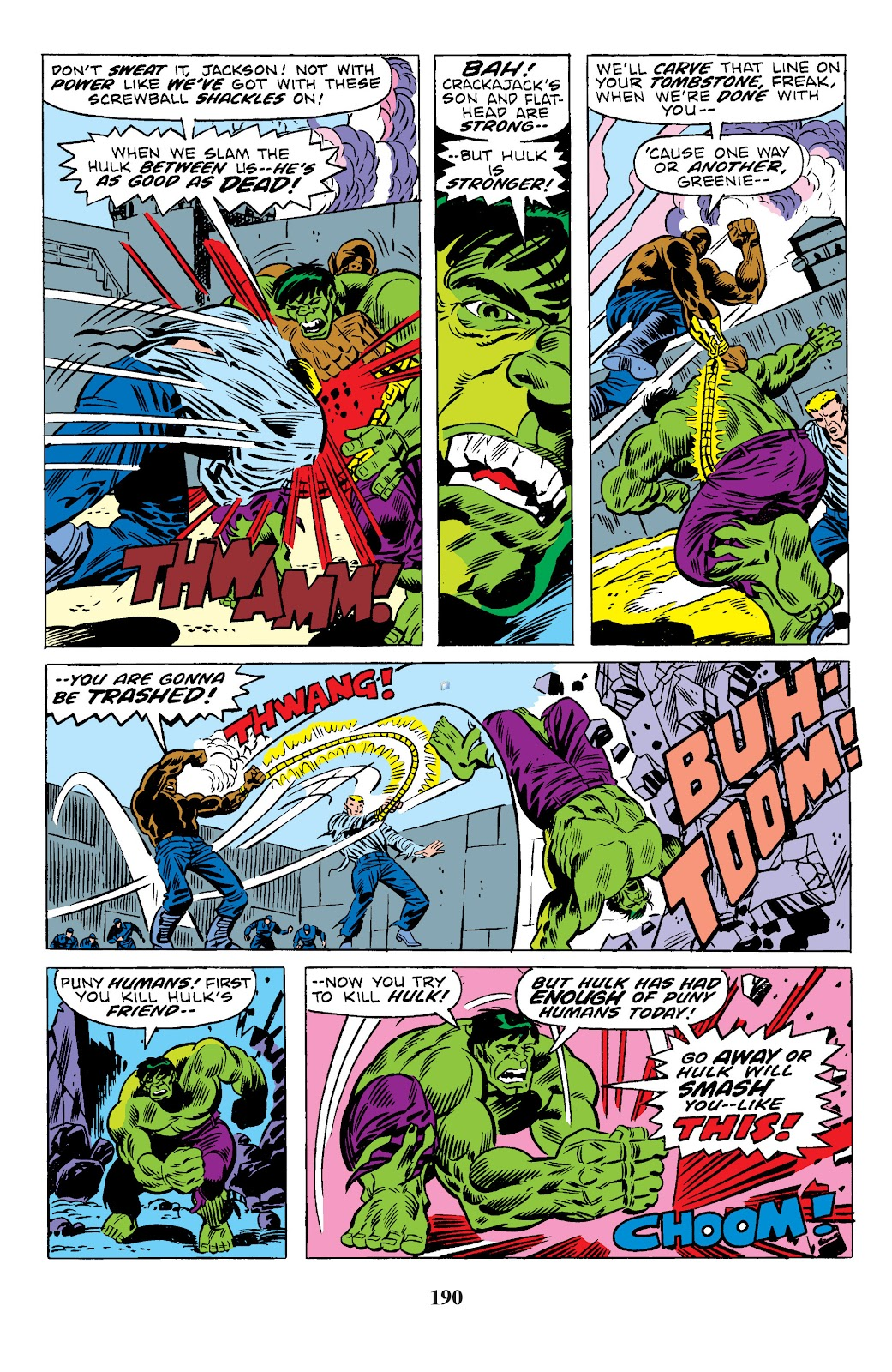 Read online Marvel Masterworks: The Incredible Hulk comic -  Issue # TPB 10 (Part 3) - 37