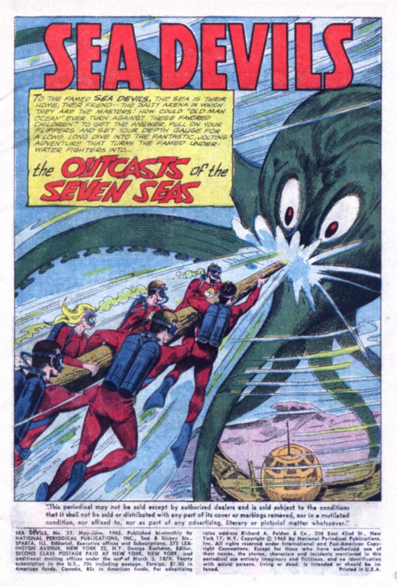 Read online Sea Devils comic -  Issue #23 - 3