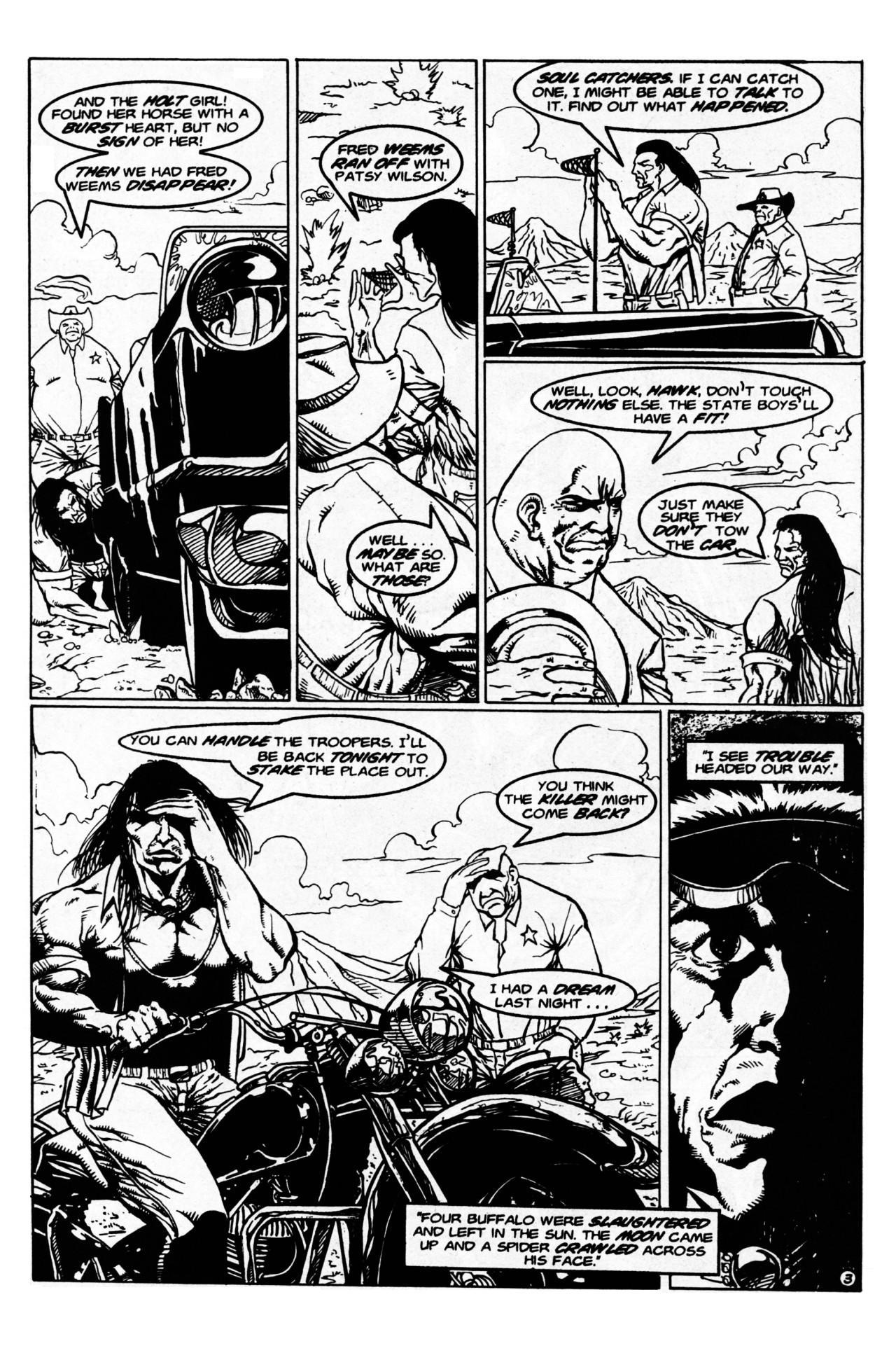 Read online Dr. Weird (1997) comic -  Issue #1 - 5