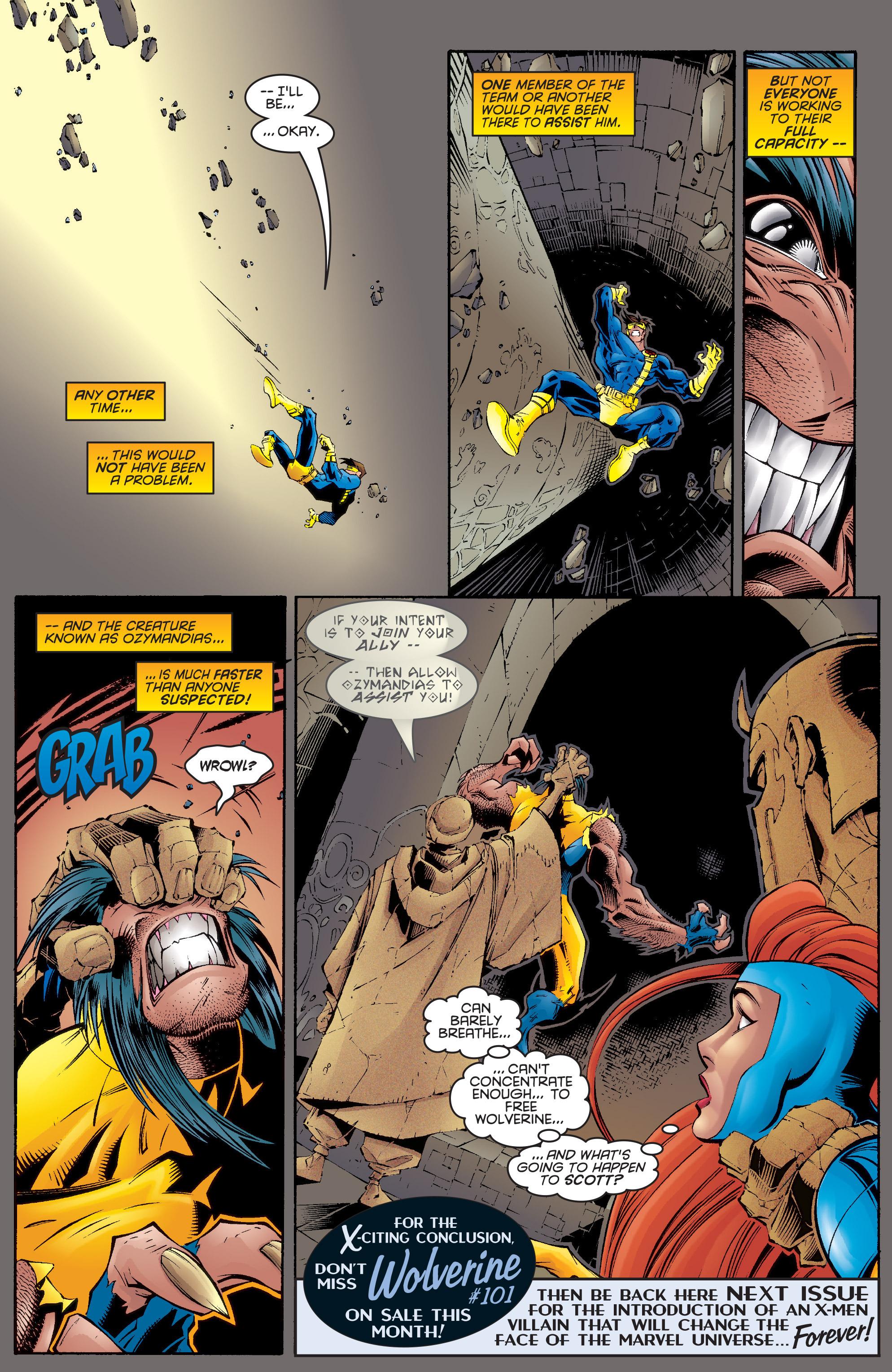 Read online Uncanny X-Men (1963) comic -  Issue #332 - 18
