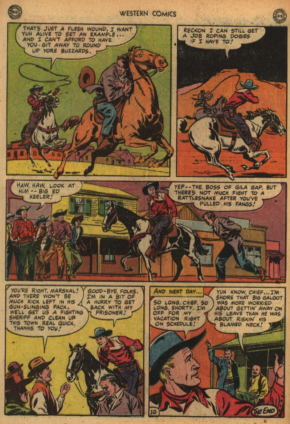 Western Comics issue 1 - Page 12