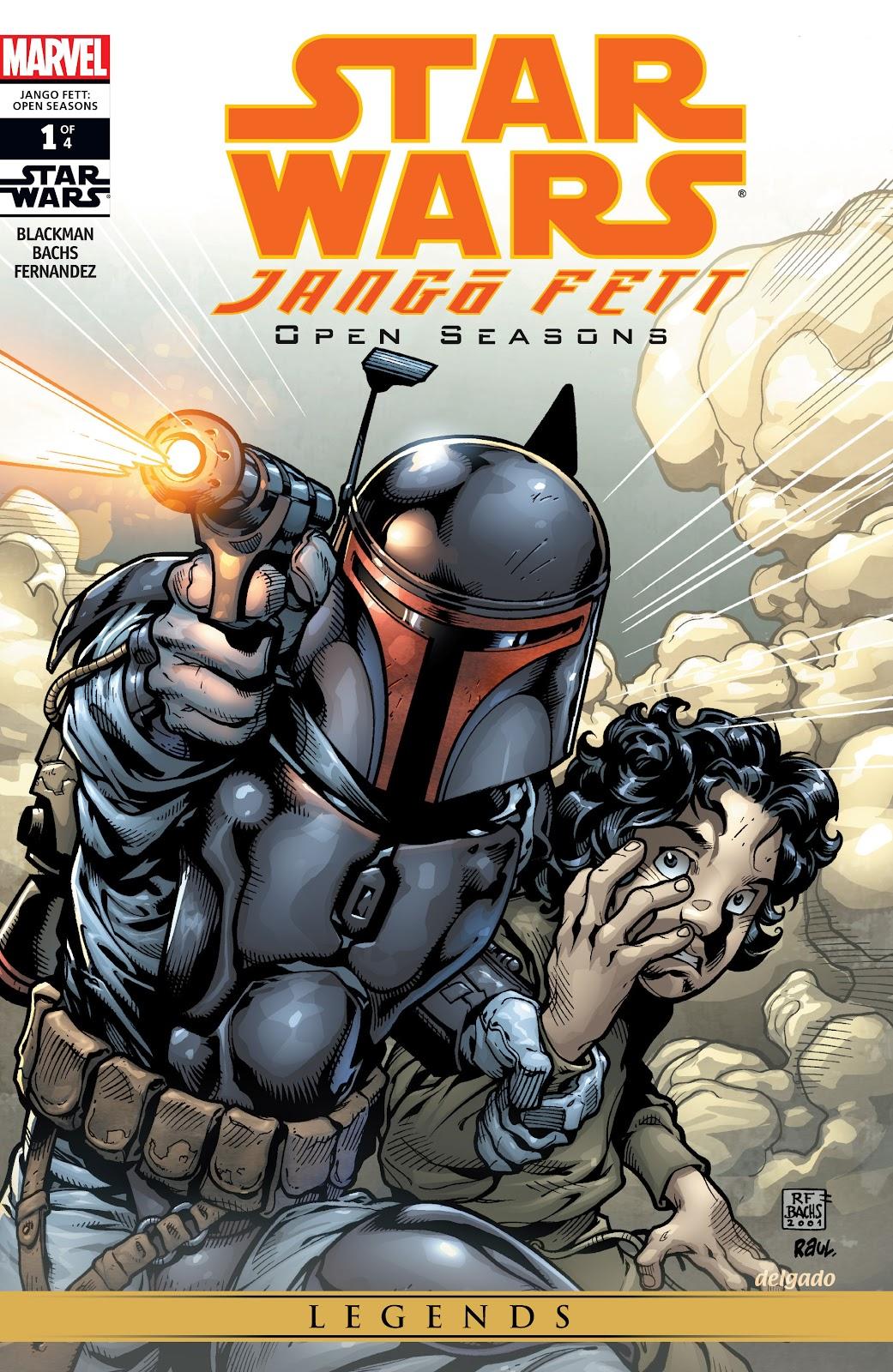 Star Wars: Jango Fett - Open Seasons 1 Page 1