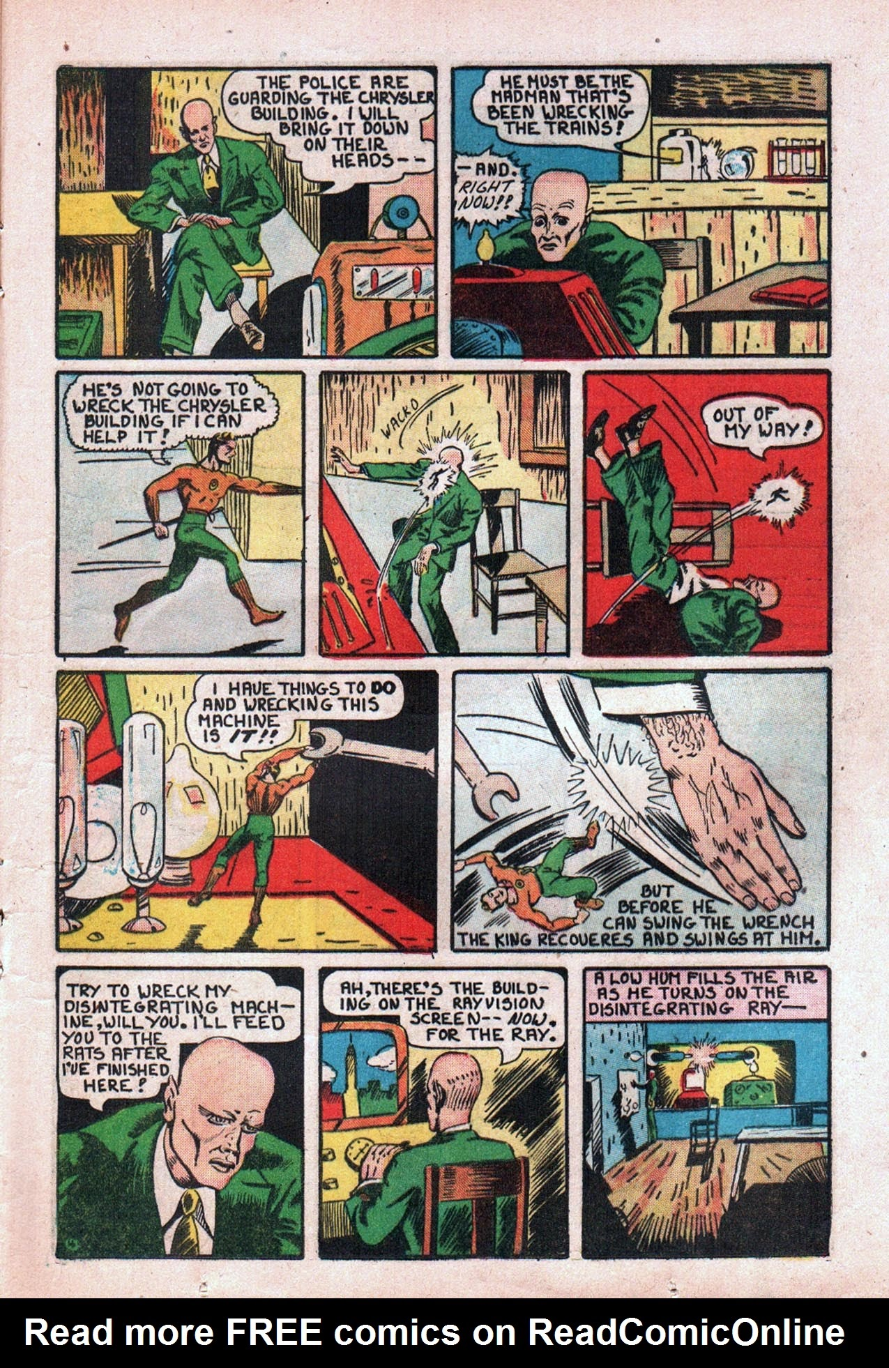 Read online Amazing Man Comics comic -  Issue #20 - 26