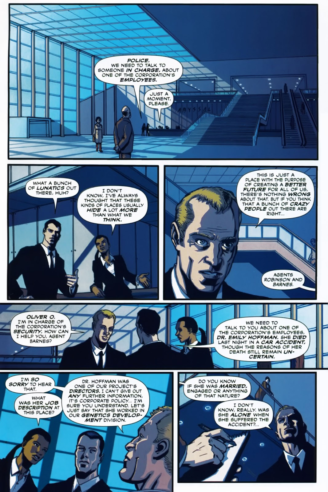 Read online Lazarus (2007) comic -  Issue #1 - 13