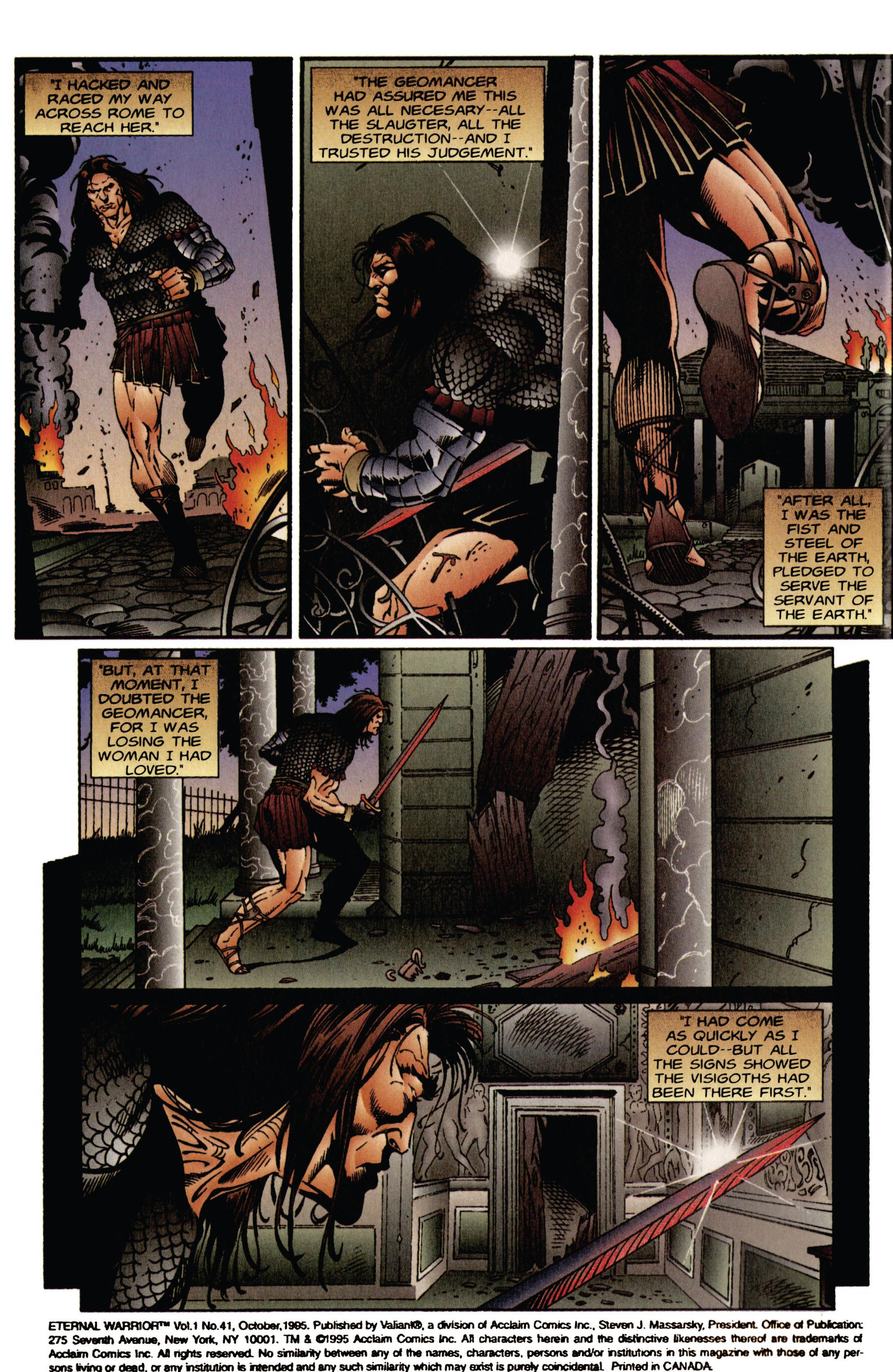 Read online Eternal Warrior (1992) comic -  Issue #41 - 3