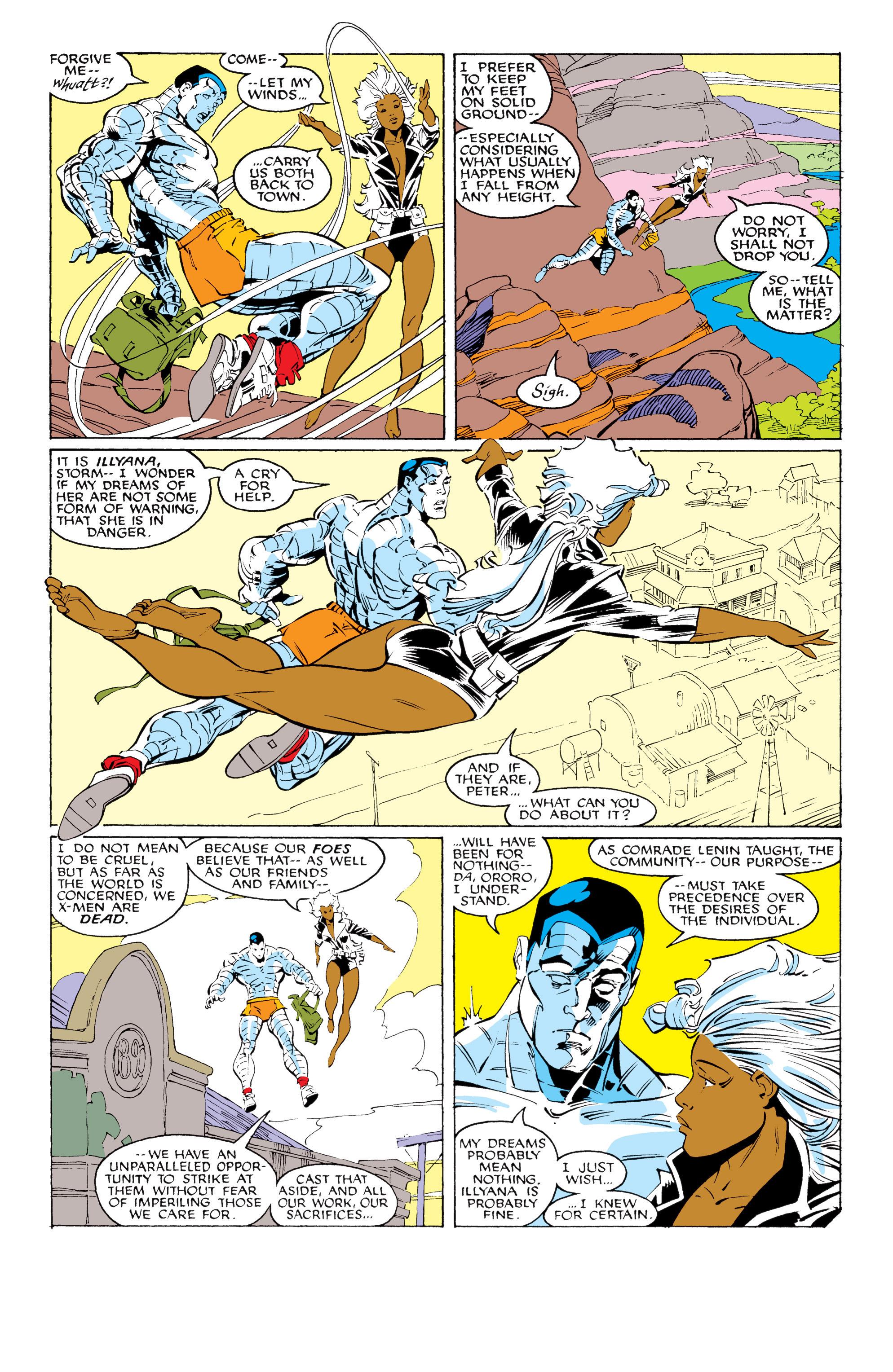 Read online Uncanny X-Men (1963) comic -  Issue #231 - 7
