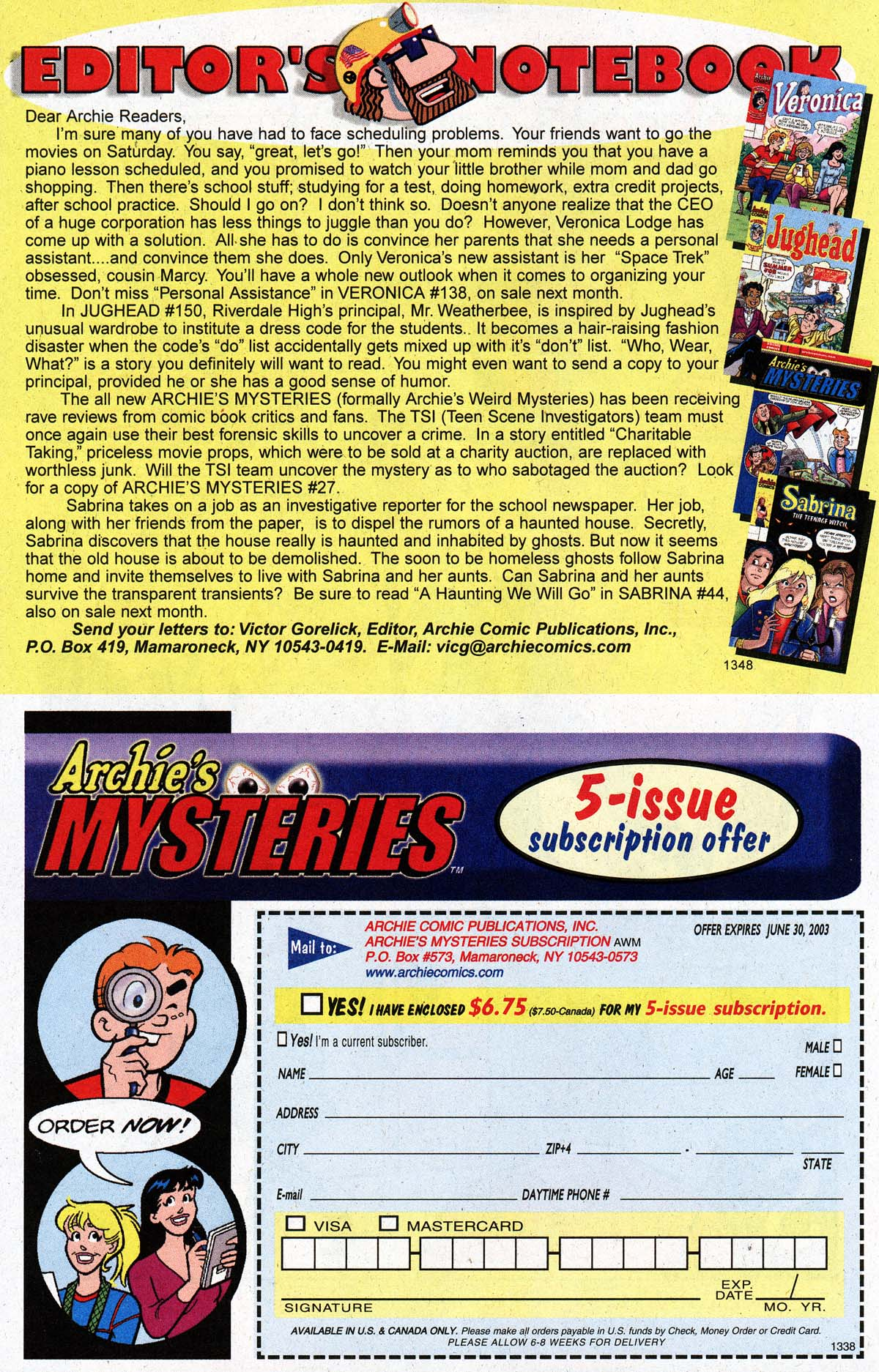Read online Archie (1960) comic -  Issue #533 - 16