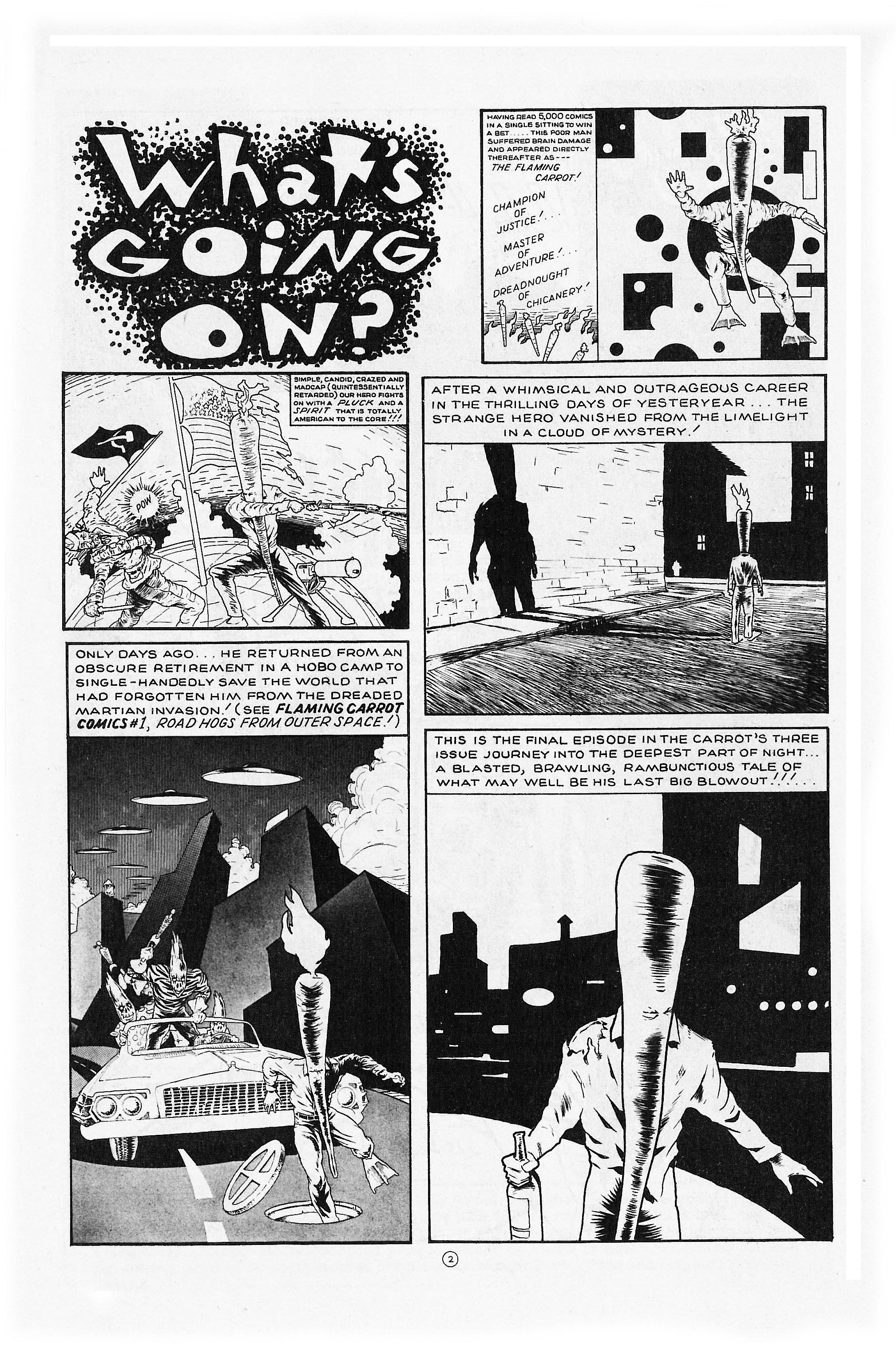 Read online Flaming Carrot Comics (1984) comic -  Issue #6 - 4