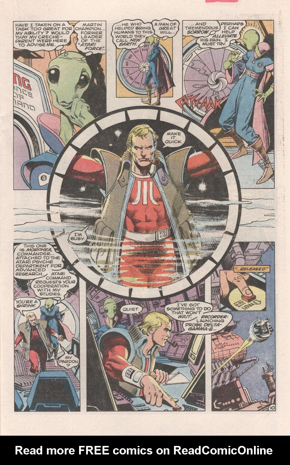 Read online Atari Force (1984) comic -  Issue #2 - 12
